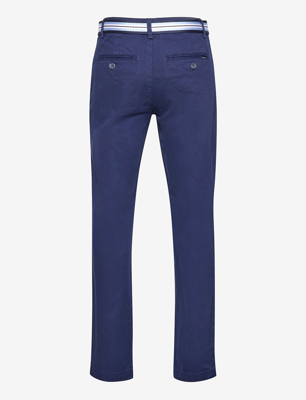 Ralph Lauren Kids - Belted Super Skinny Stretch Chino Pant - trousers - newport navy - 1