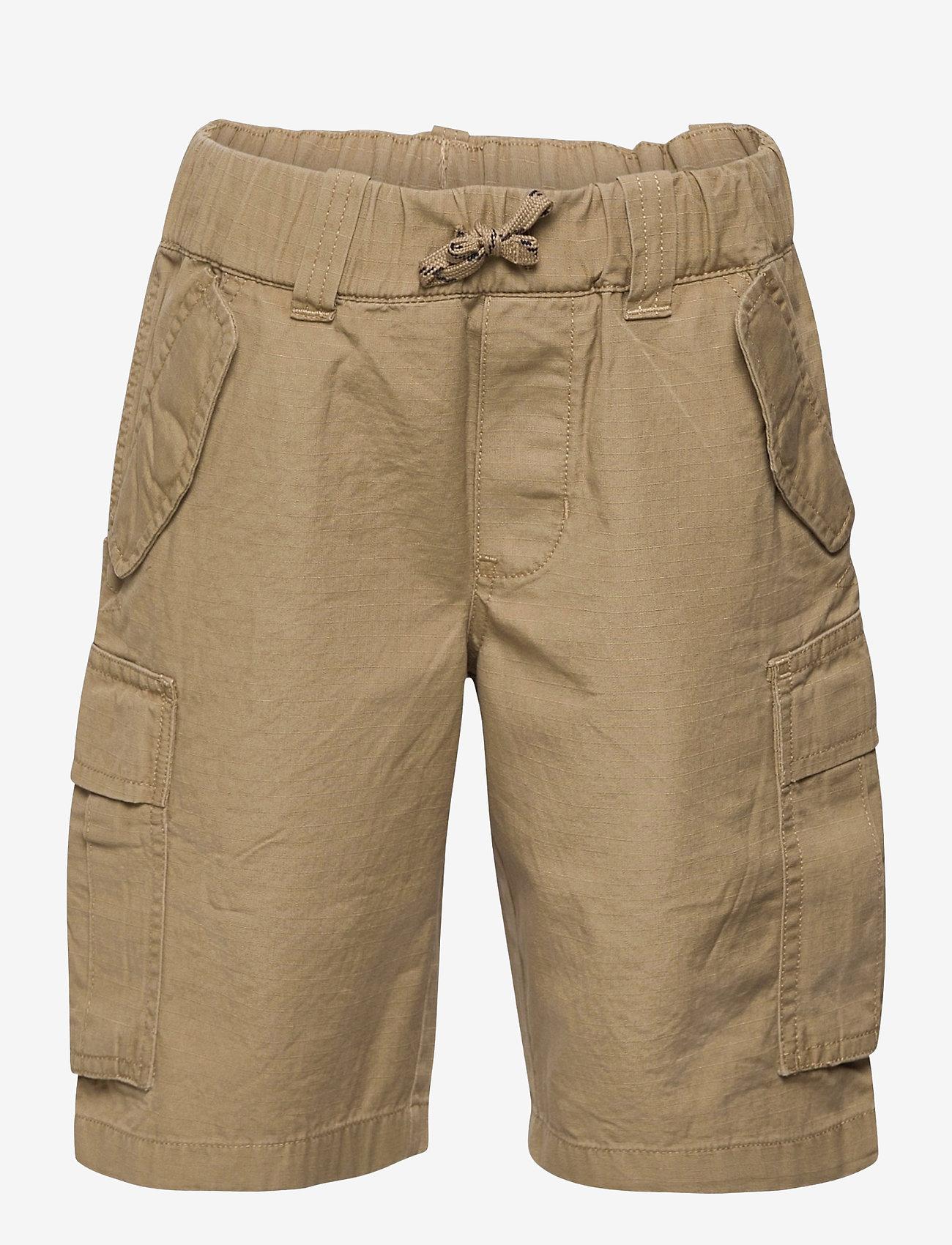 Ralph Lauren Kids - Cotton Ripstop Cargo Short - shorts - desert khaki - 0