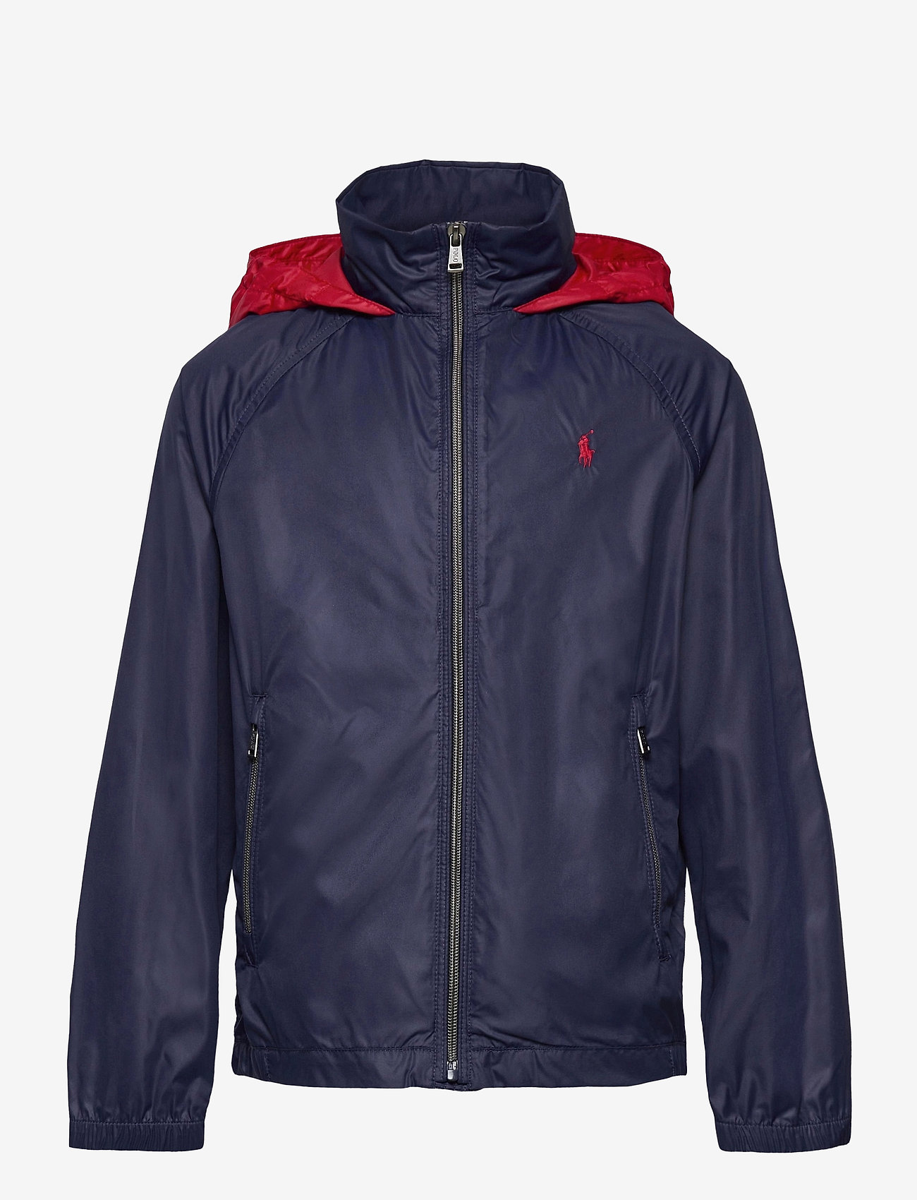 Ralph Lauren Kids - Water-Resistant Packable Hooded Jacket - jassen - newport navy/ rl2 - 0