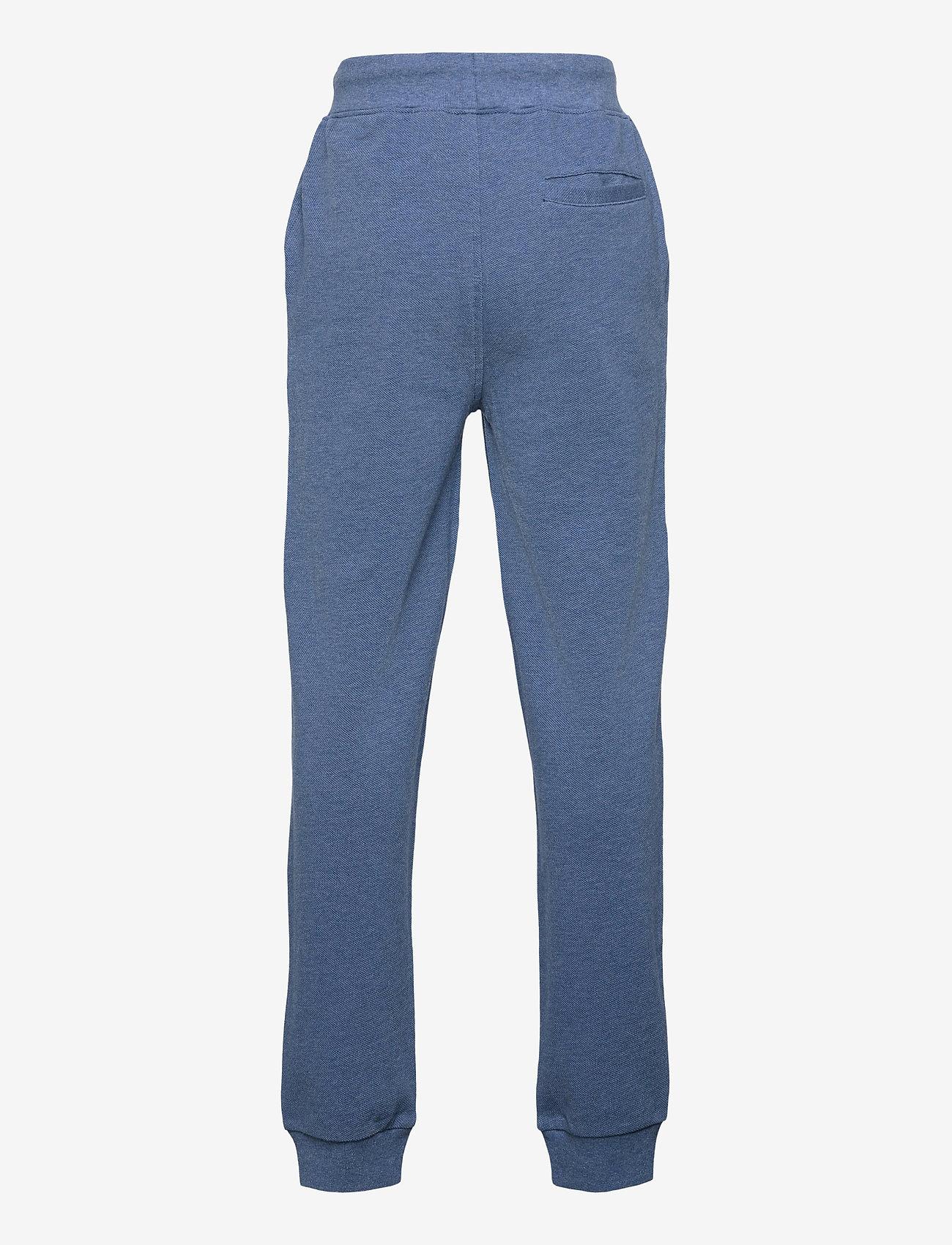 Ralph Lauren Kids - Cotton Mesh Jogger Pant - trousers - royal heather - 1
