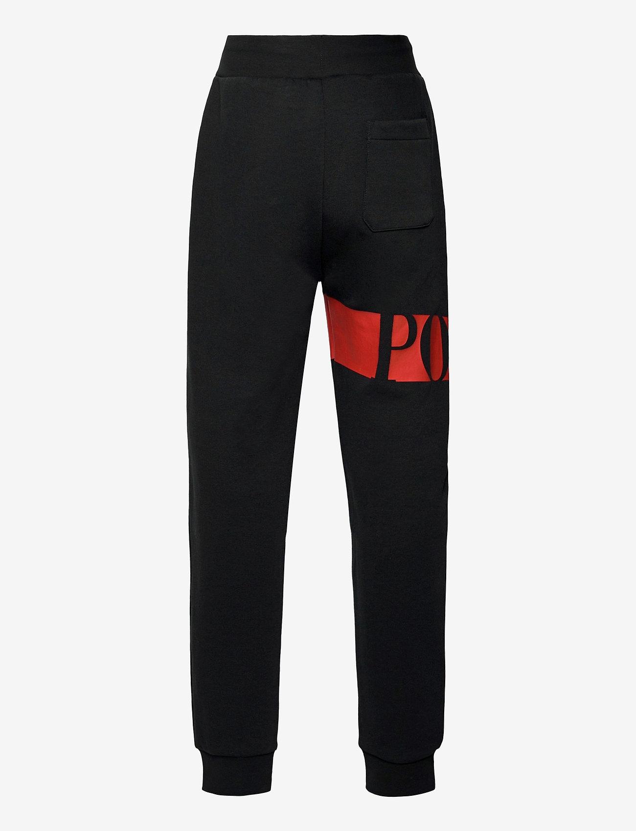 Ralph Lauren Kids - 26/1 DOUBLE KNT CVC-PO PANT-BT-PNT - sweatpants - polo black - 1