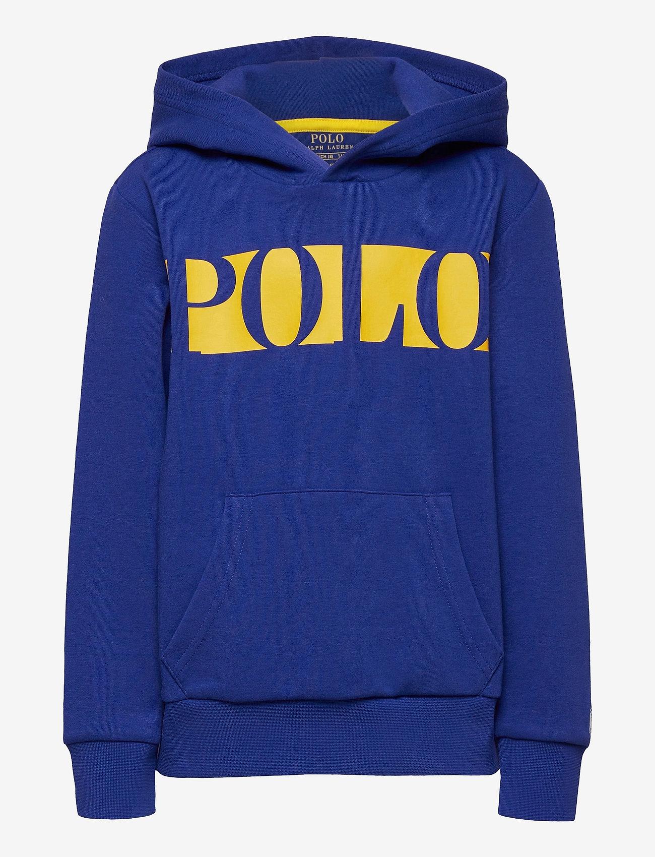 Ralph Lauren Kids - Logo Double-Knit Hoodie - pulls à capuche - heritage royal - 0