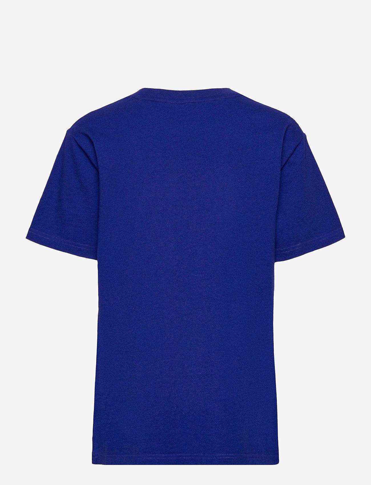 Ralph Lauren Kids - Big Pony Logo Cotton Jersey Tee - short-sleeved - heritage royal - 1