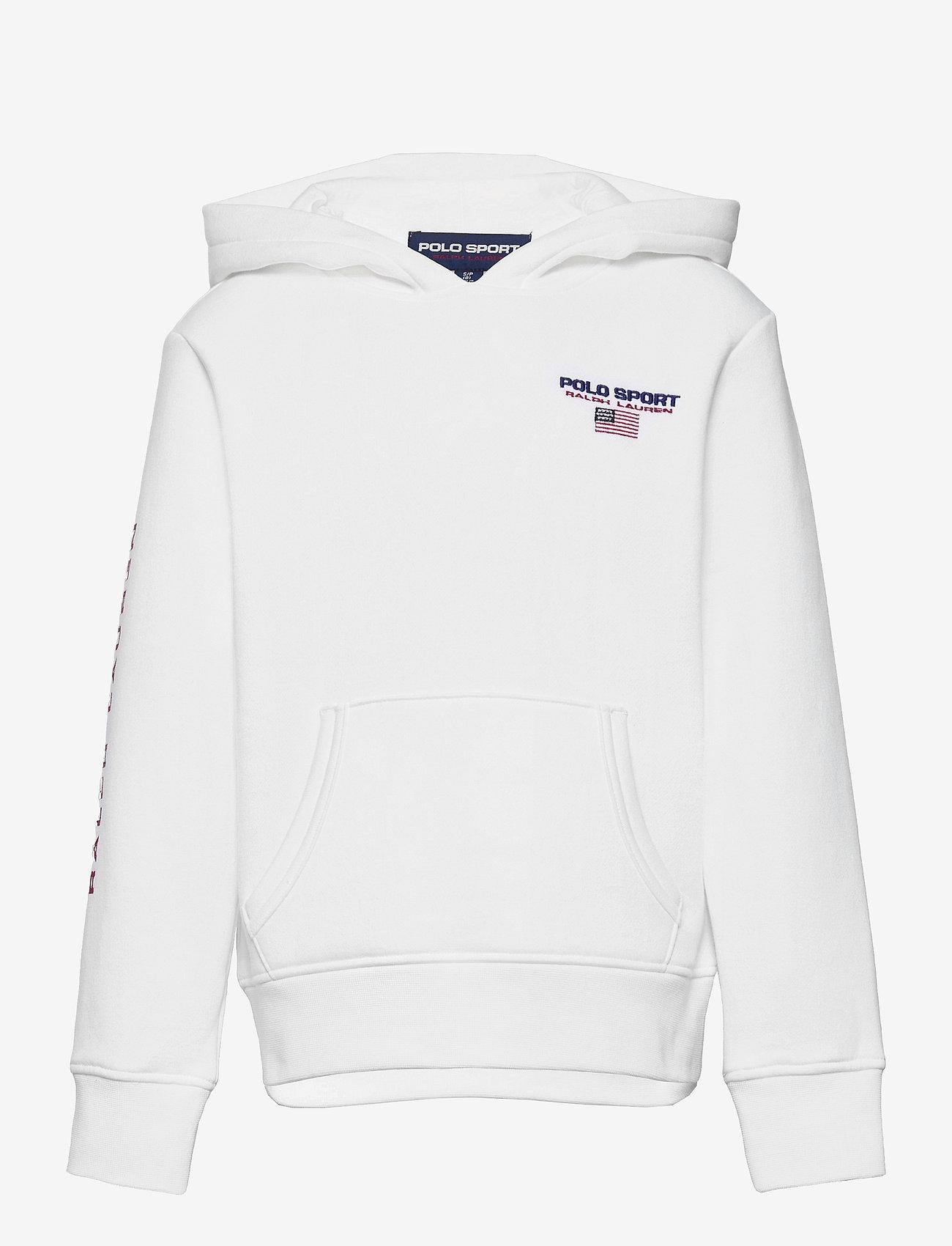 Ralph Lauren Kids - Polo Sport Fleece Hoodie - kapuzenpullover - white - 0