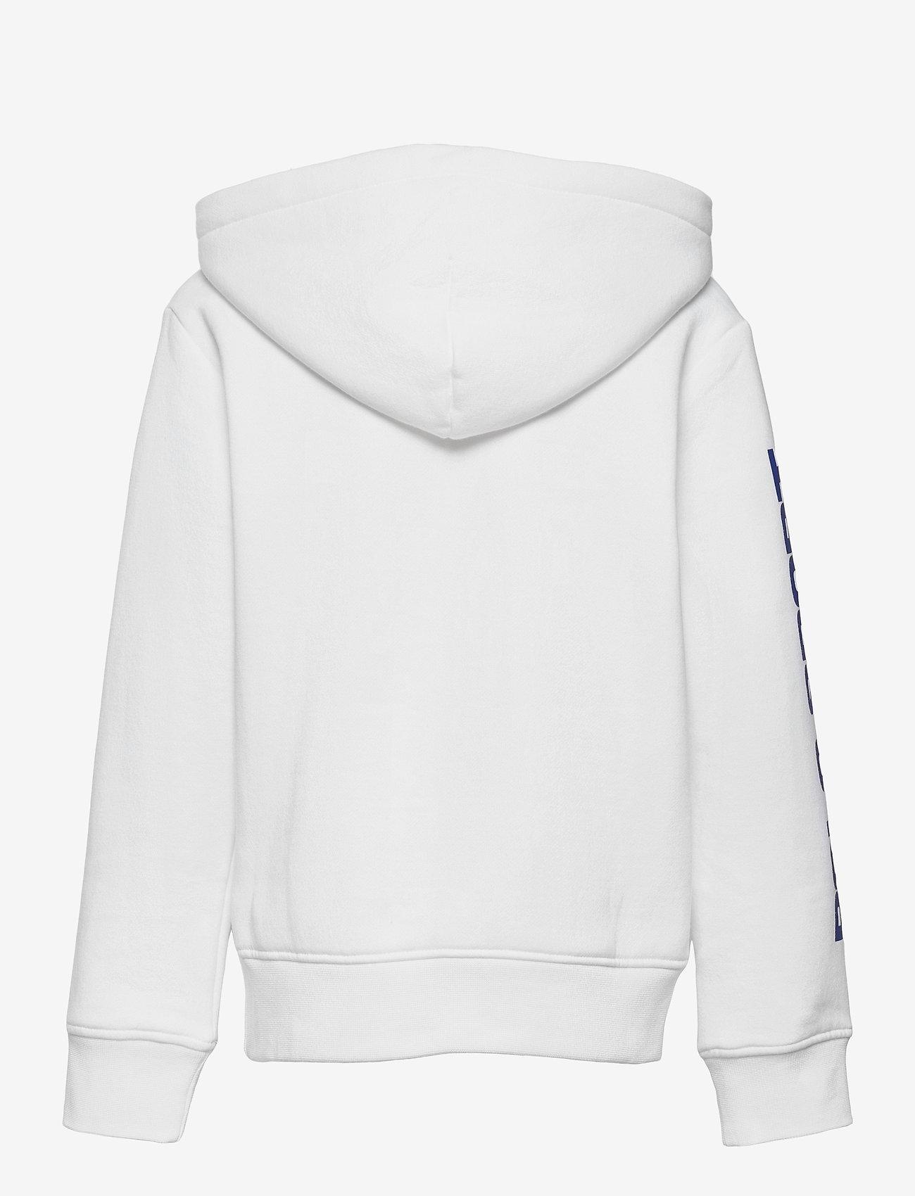Ralph Lauren Kids - Polo Sport Fleece Hoodie - kapuzenpullover - white - 1