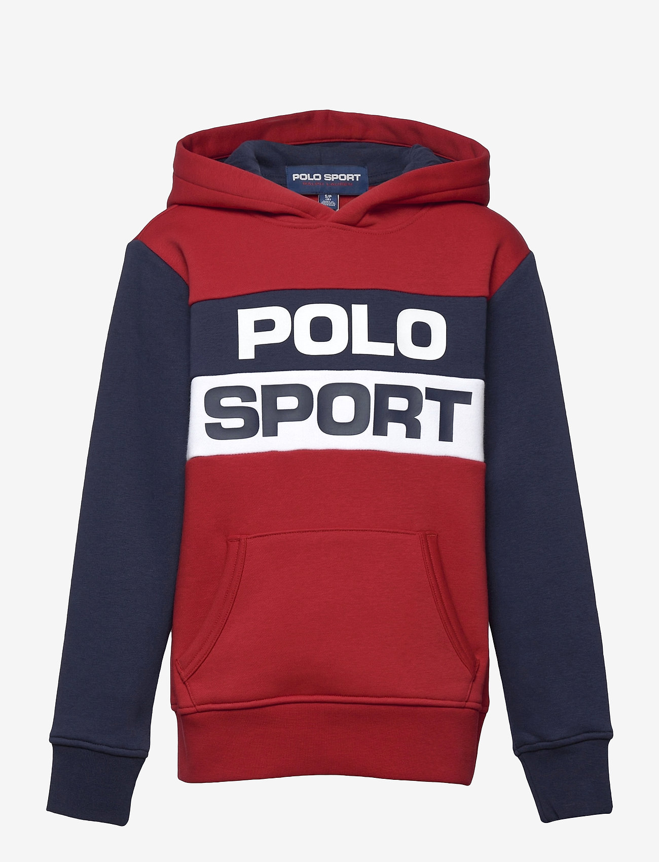 Ralph Lauren Kids - Polo Sport Fleece Hoodie - pulls à capuche - rl2000 red multi - 0