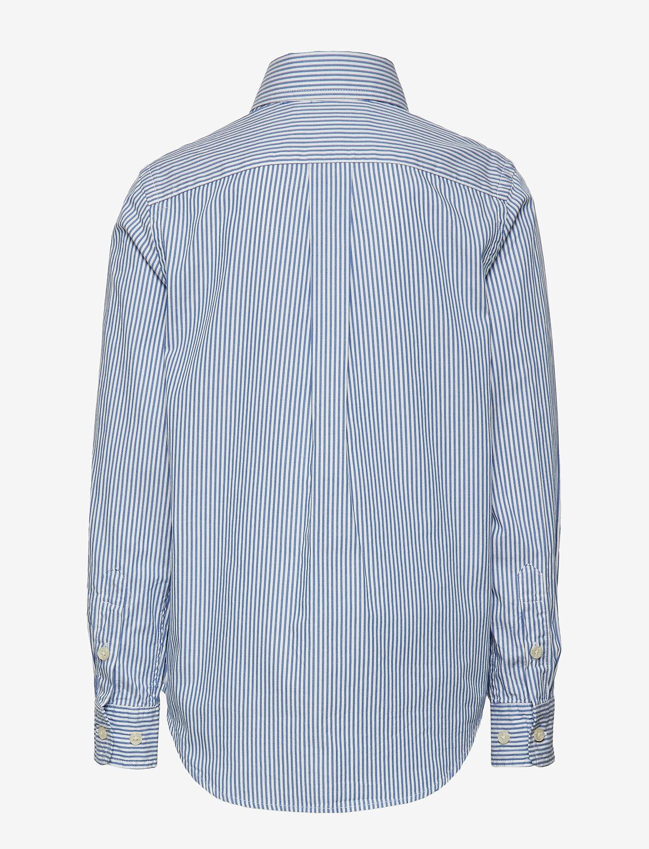 Ralph Lauren Kids - CUSTOM FIT BLAKE SHIRT - overhemden - bsr blue/wht - 1
