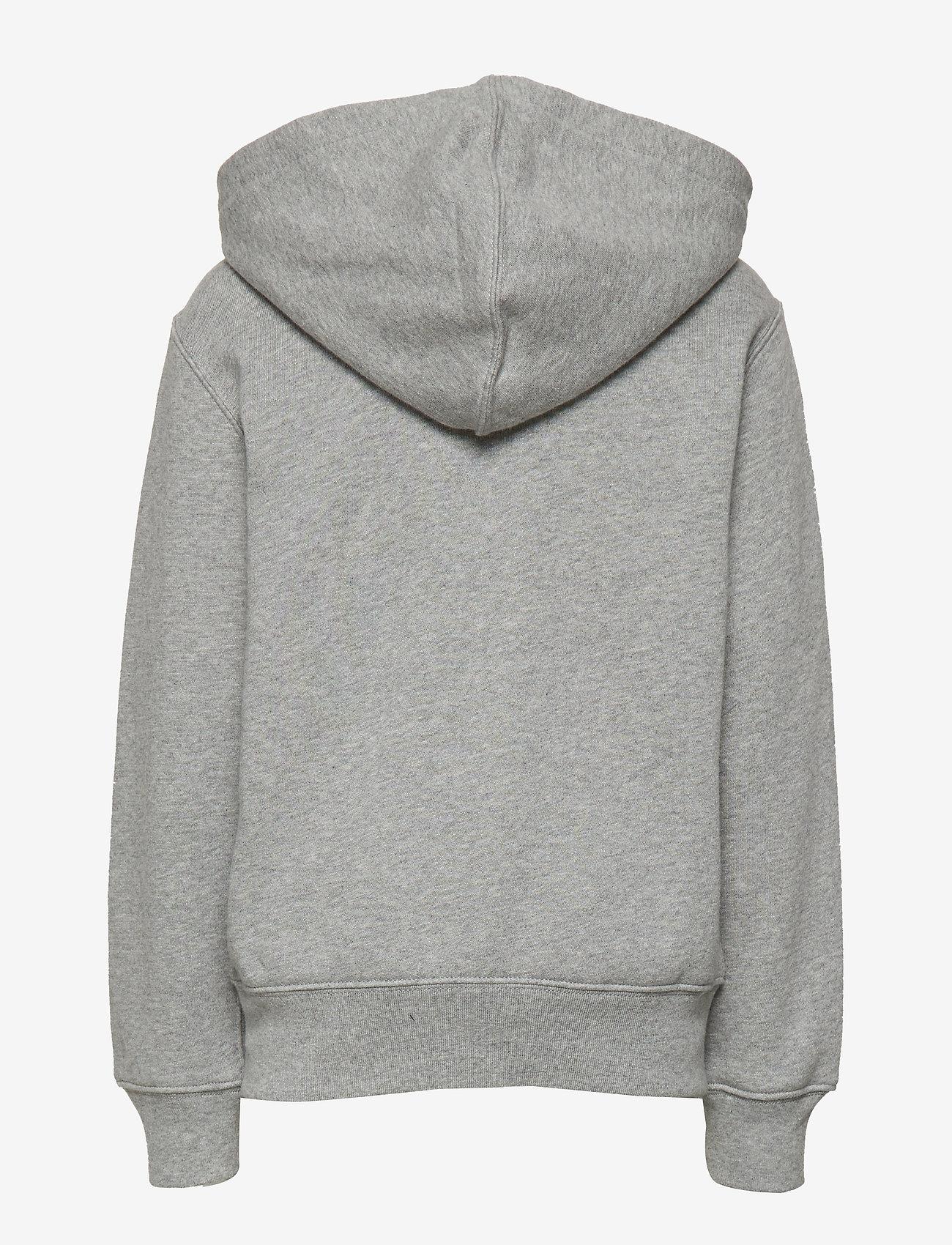 Ralph Lauren Kids - LSL FZ HOOD PP - hoodies - dark sport heat - 1