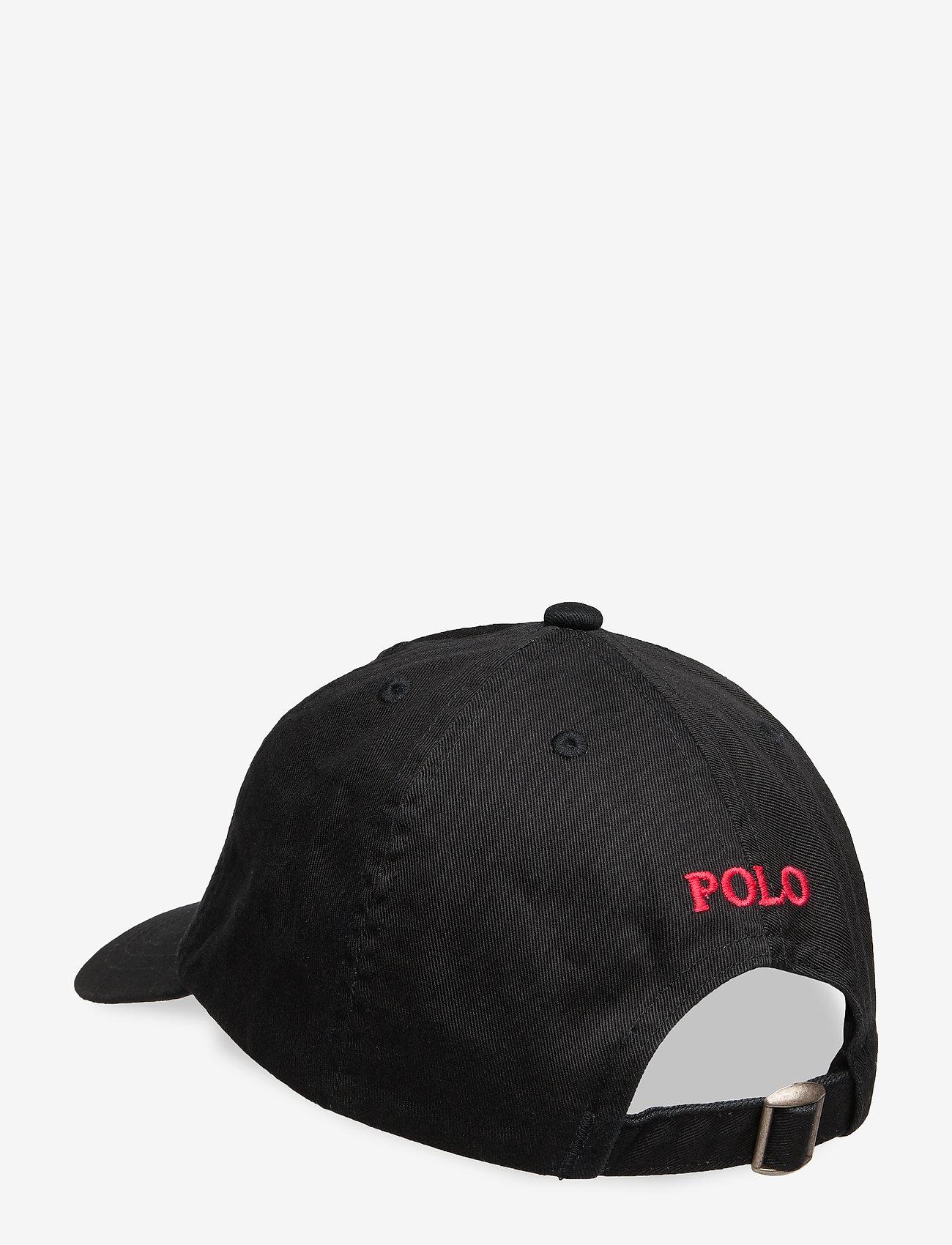 Ralph Lauren Kids - Cotton Chino Baseball Cap - hats & caps - black - 1
