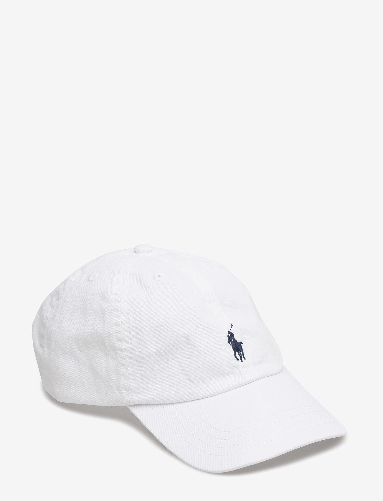 Ralph Lauren Kids - Cotton Chino Baseball Cap - hats & caps - white - 0