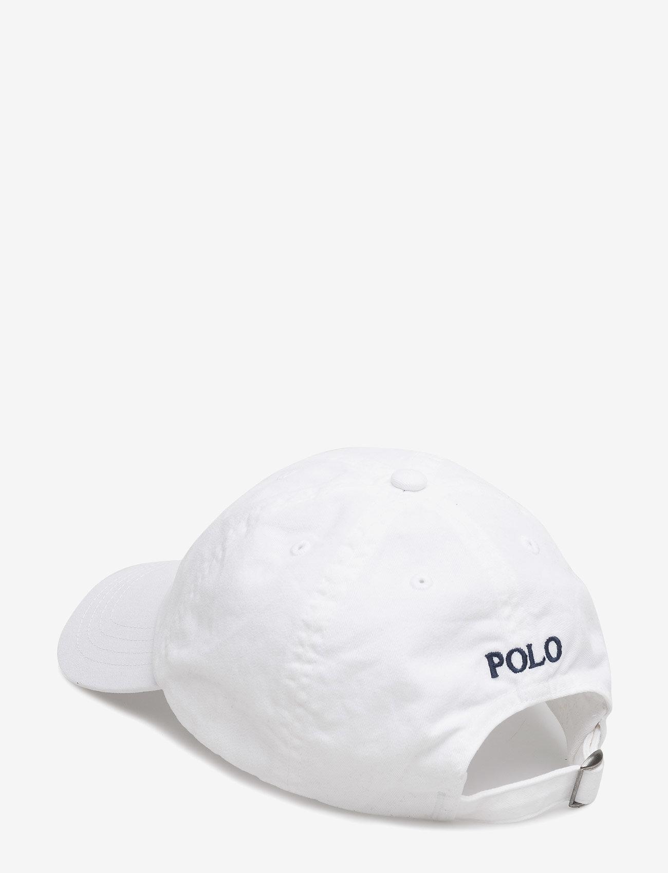 Ralph Lauren Kids - Cotton Chino Baseball Cap - hats & caps - white - 1