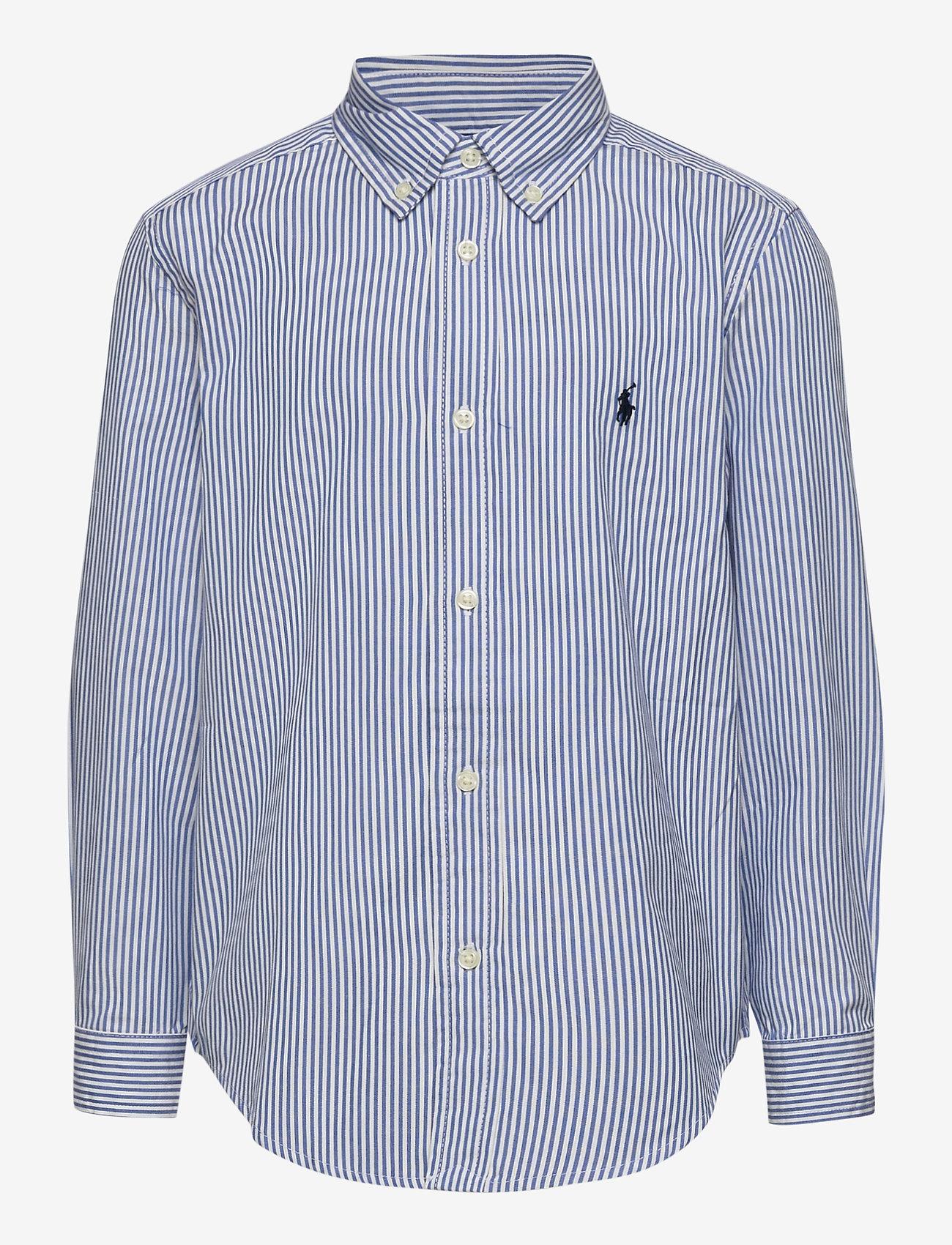 Ralph Lauren Kids - LS CF BLAKE SHIRT - overhemden - bsr blue/wht - 0
