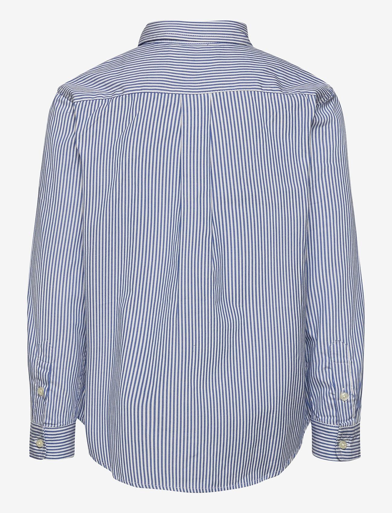 Ralph Lauren Kids - LS CF BLAKE SHIRT - overhemden - bsr blue/wht - 1