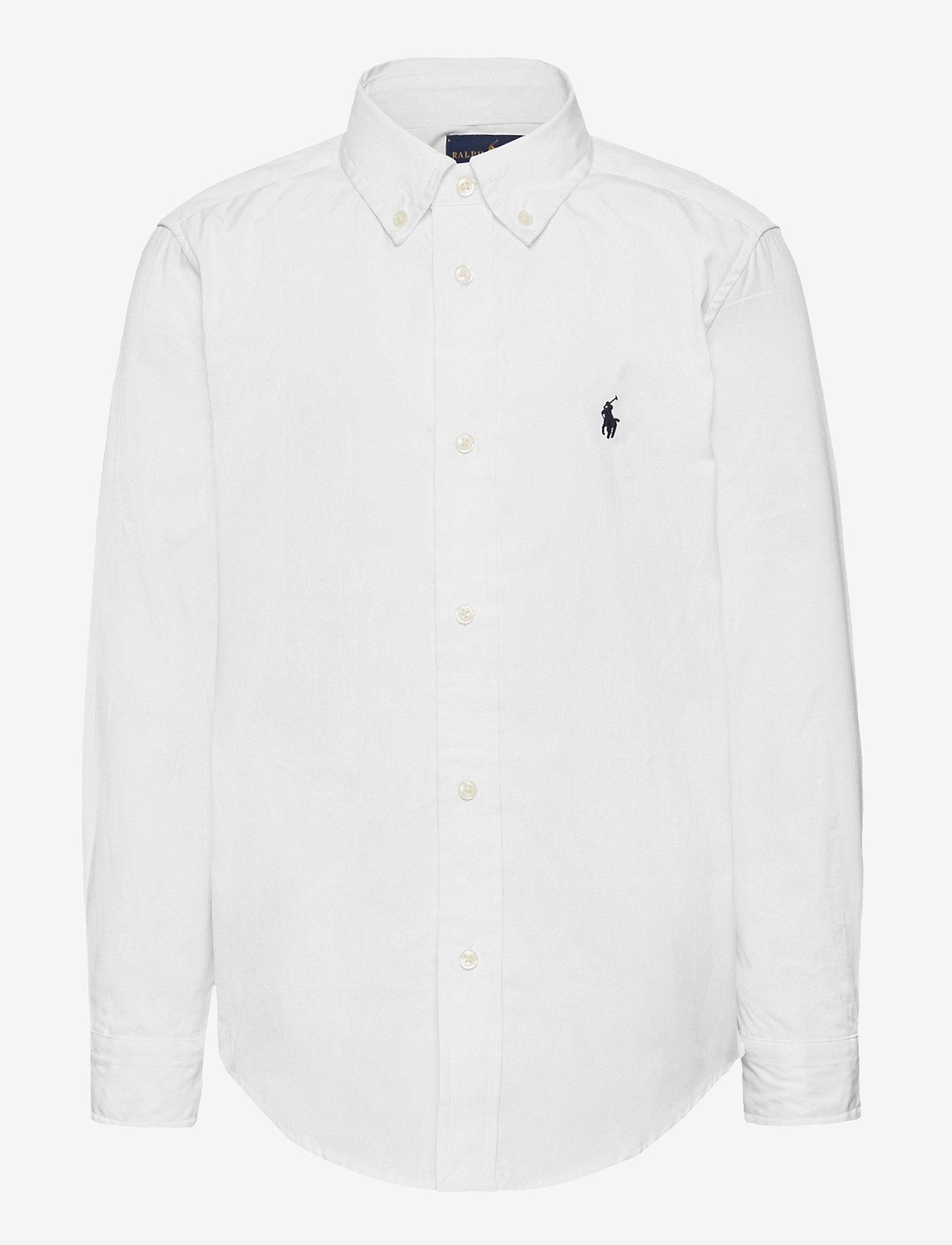 Ralph Lauren Kids - LS CF BLAKE SHIRT - overhemden - white - 0