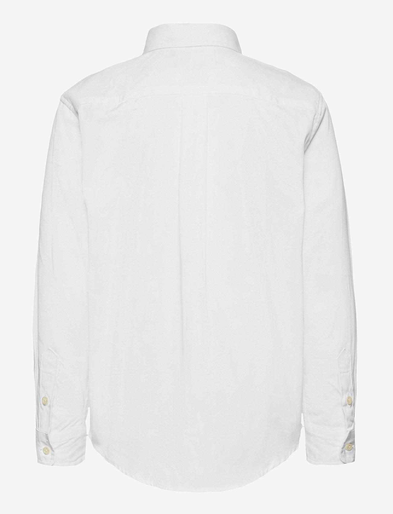 Ralph Lauren Kids - LS CF BLAKE SHIRT - overhemden - white - 1
