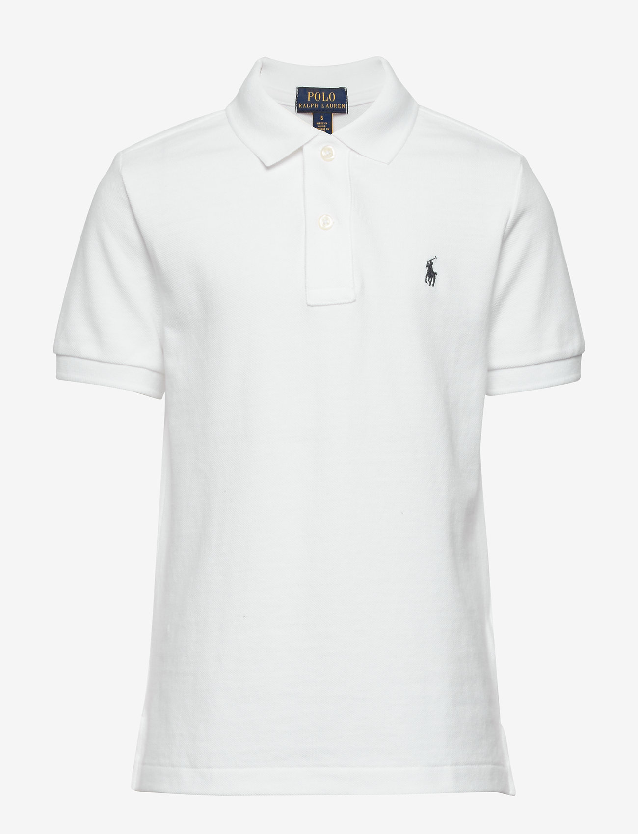 Ralph Lauren Kids - SS CLASSIC POLO - poloer - white - 0