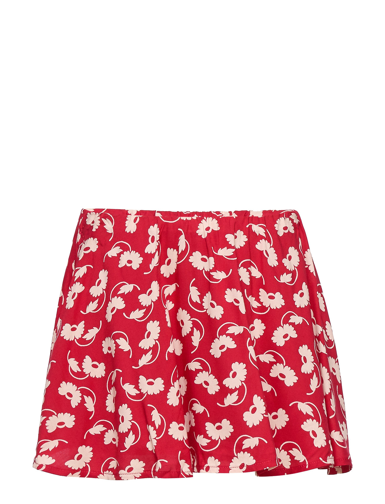 Ralph Lauren Kids Floral Skater Skirt - RED CREAM
