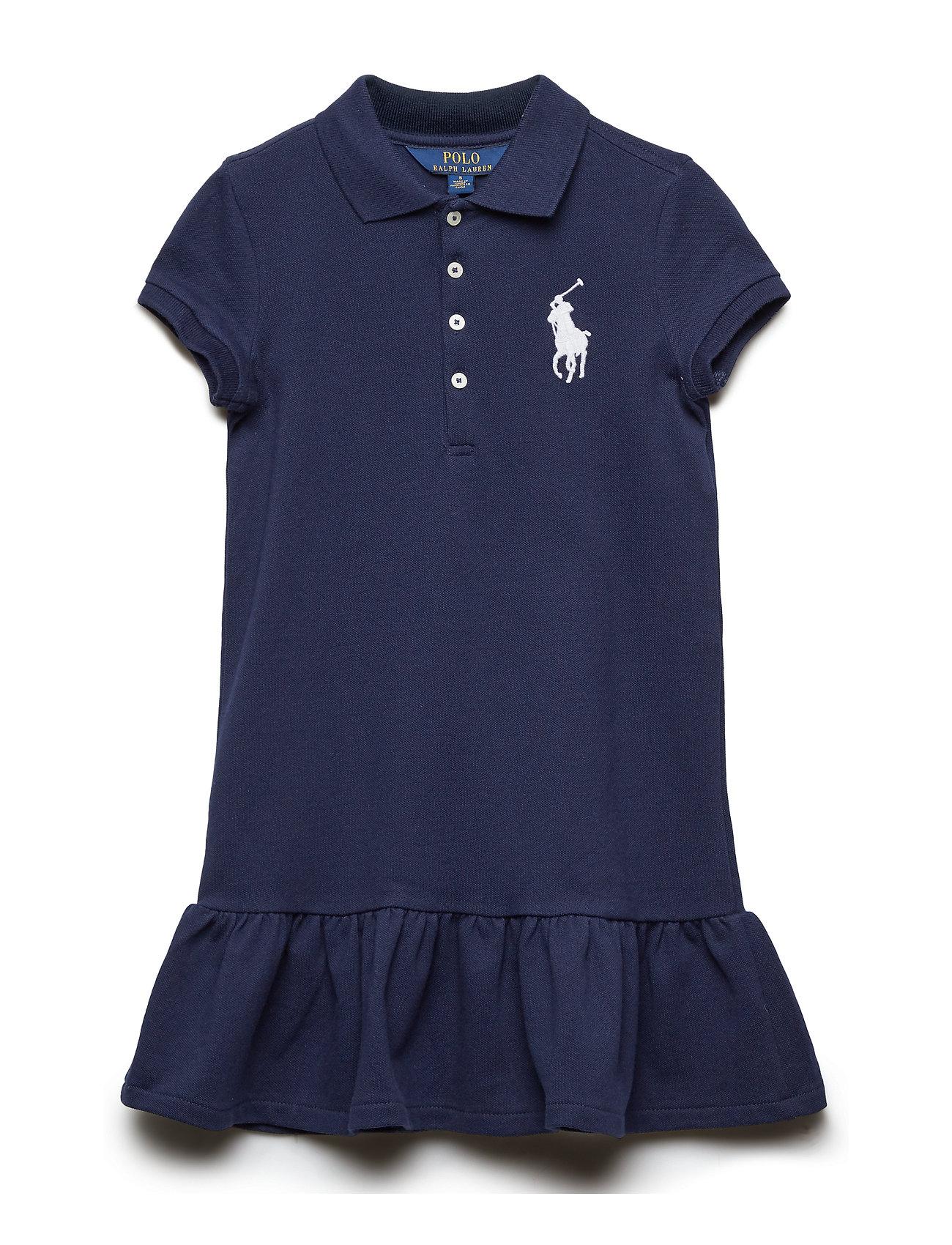 Ralph Lauren Kids Big Pony Short-Sleeve Dress - FRENCH NAVY