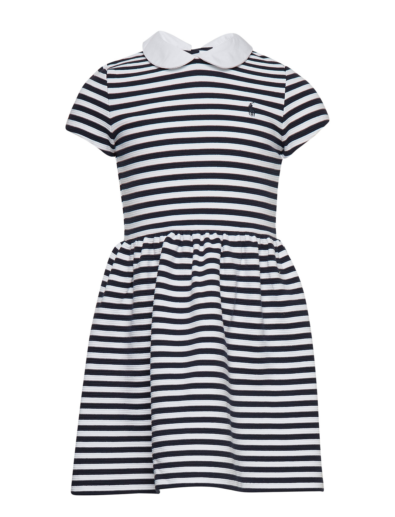 Ralph Lauren Kids STRUCTURED KNIT-STRIPE DRESS-DR-KNT