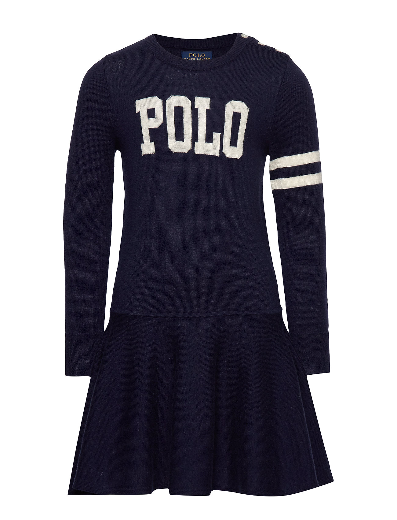 Ralph Lauren Kids POLO SW DRES-DRESSES-SWEATER - RL NAVY