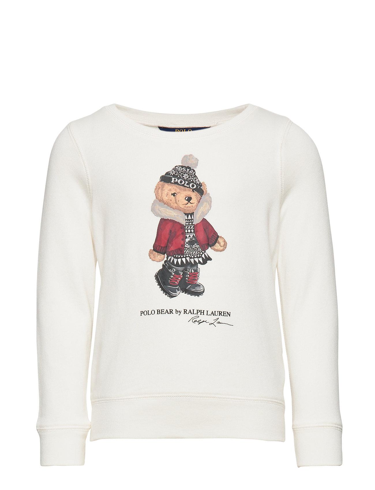 Ralph Lauren Kids HOL BEAR PO-TOPS-KNIT - NEVIS