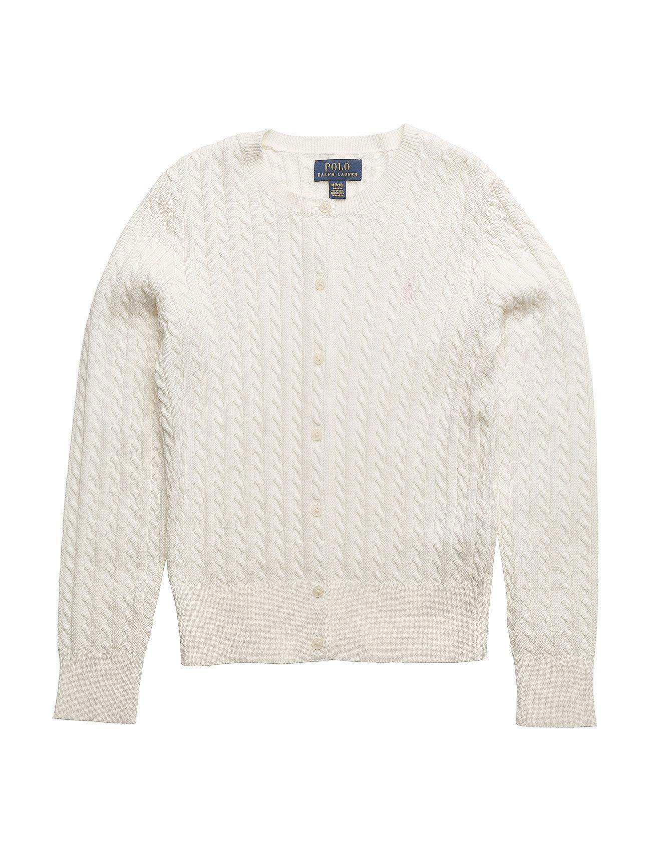 Ralph Lauren Kids MINI CABLE-TOPS-SWEATER - WARM WHITE
