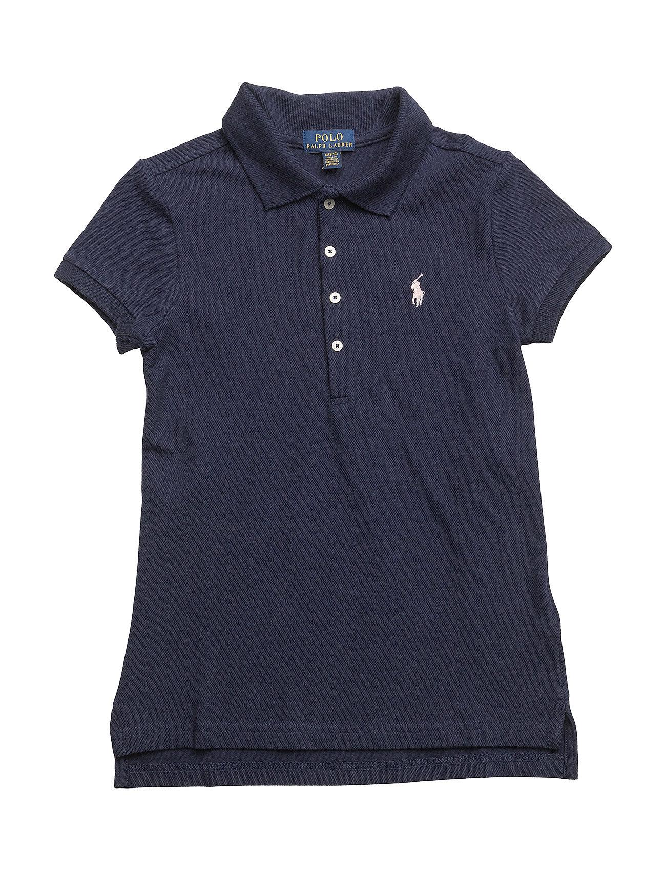 Ralph Lauren Kids Cotton Polo Shirt - FRENCH NAVY