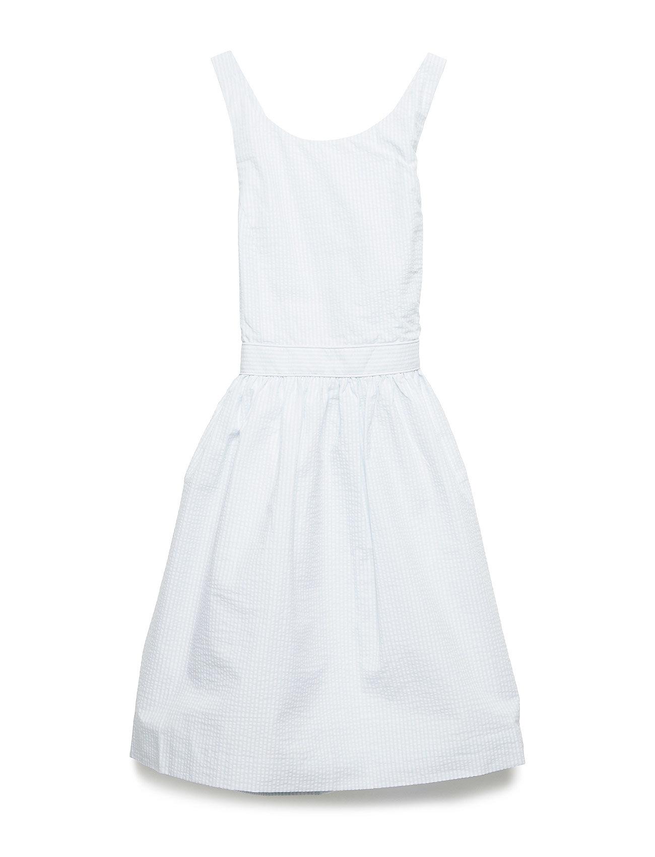 Ralph Lauren Kids Seersucker Crossback Dress