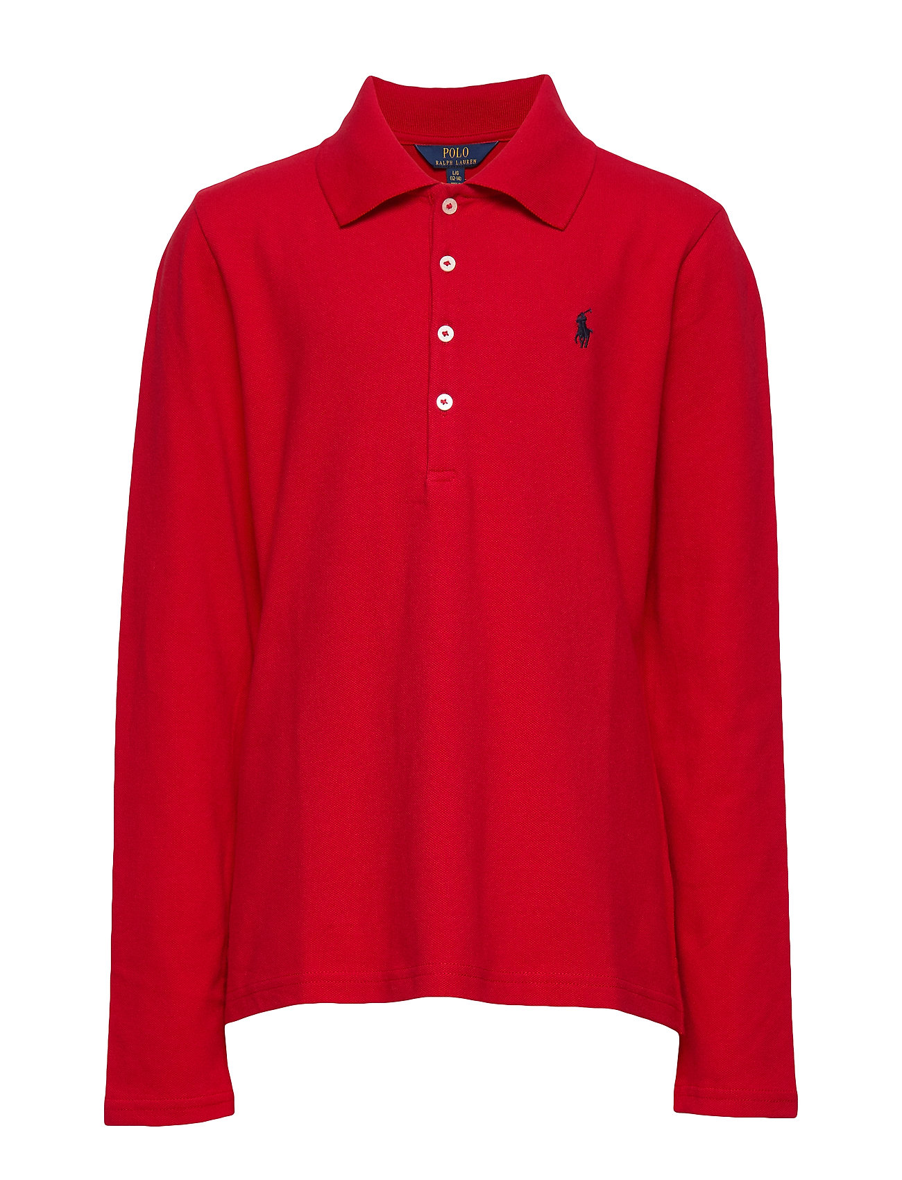Ralph Lauren Kids Stretch Cotton Mesh Polo Shirt - RL 2000 RED
