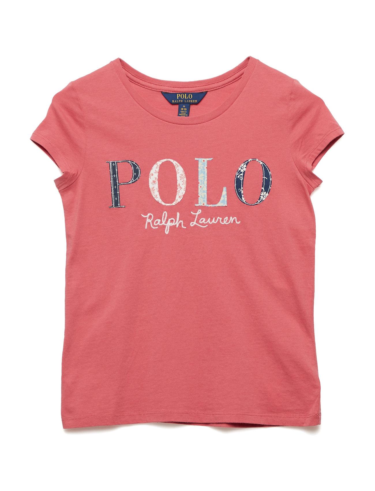 Ralph Lauren Kids Floral Polo Jersey T-Shirt