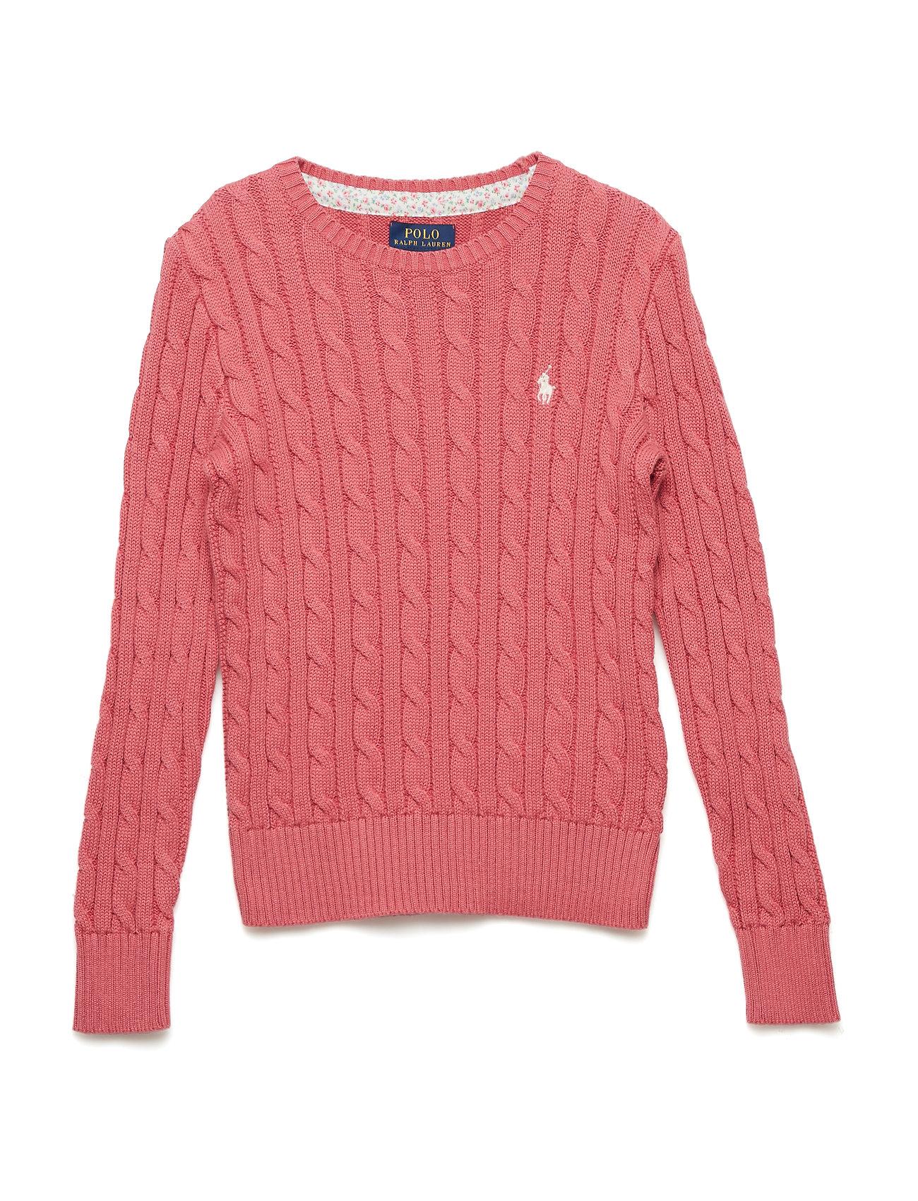 Ralph Lauren Kids Cable-Knit Cotton Sweater