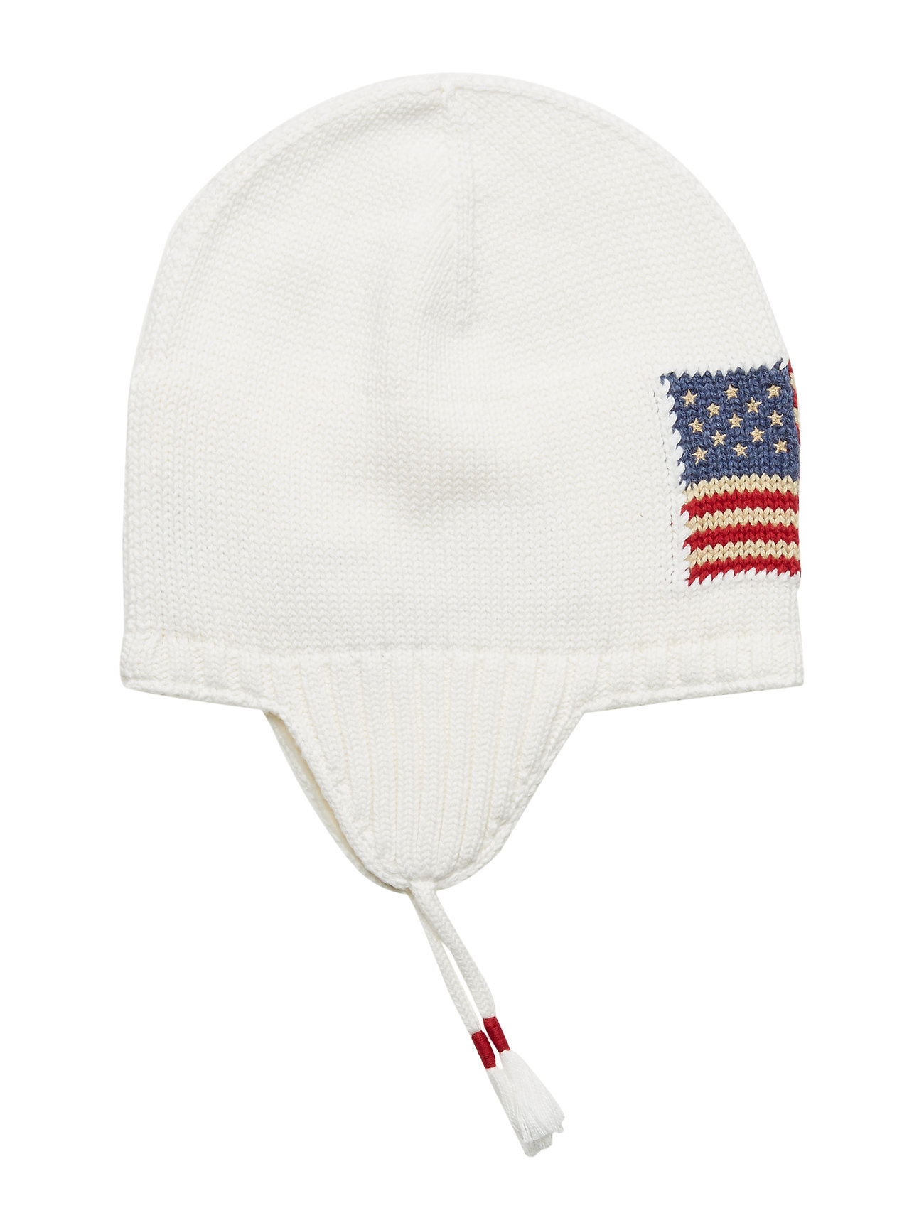 Ralph Lauren Kids Flag Cotton Earflap Hat - NEVIS