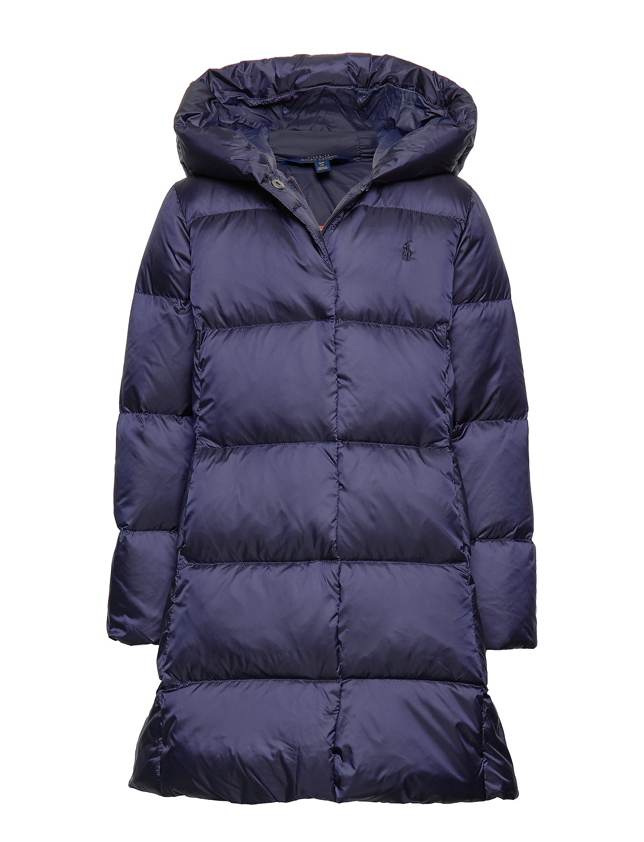 Ralph Lauren Kids Quilted Down Long Coat - FRENCH NAVY