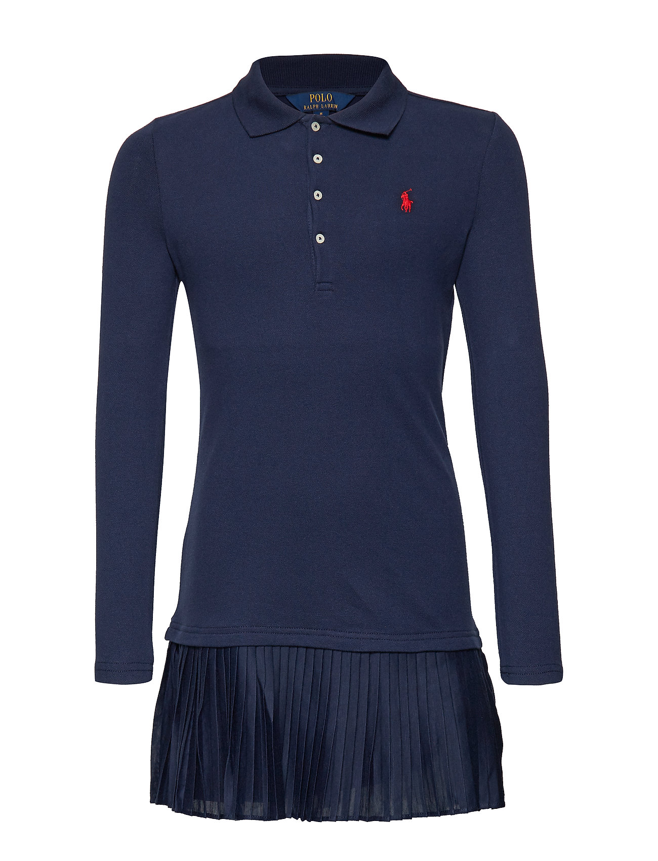 15f36db66 Stretch Mesh-pleat Polo D-dr-knt (French Navy) (89 €) - Ralph Lauren ...