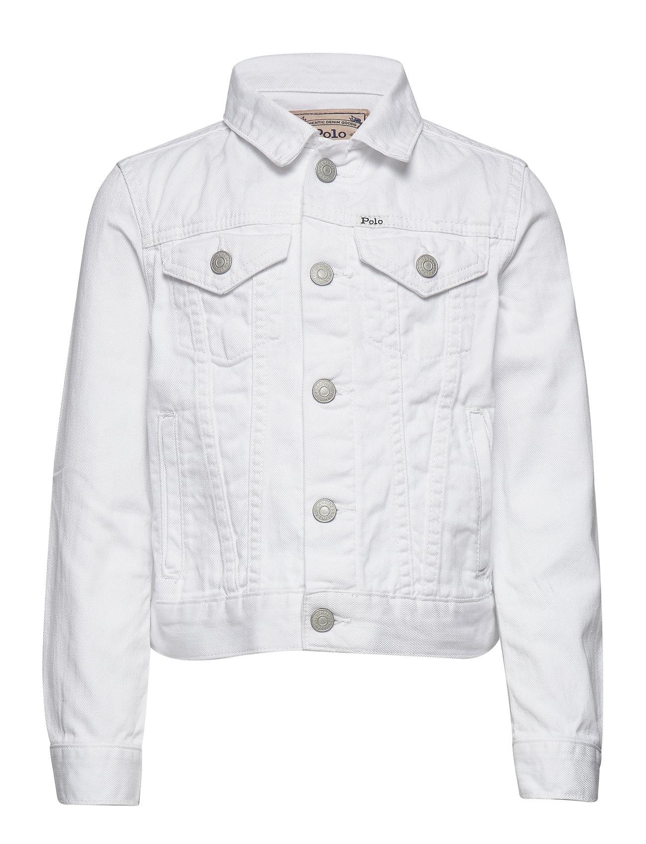 Ralph Lauren Kids Cotton Denim Trucker Jacket - POE WASH