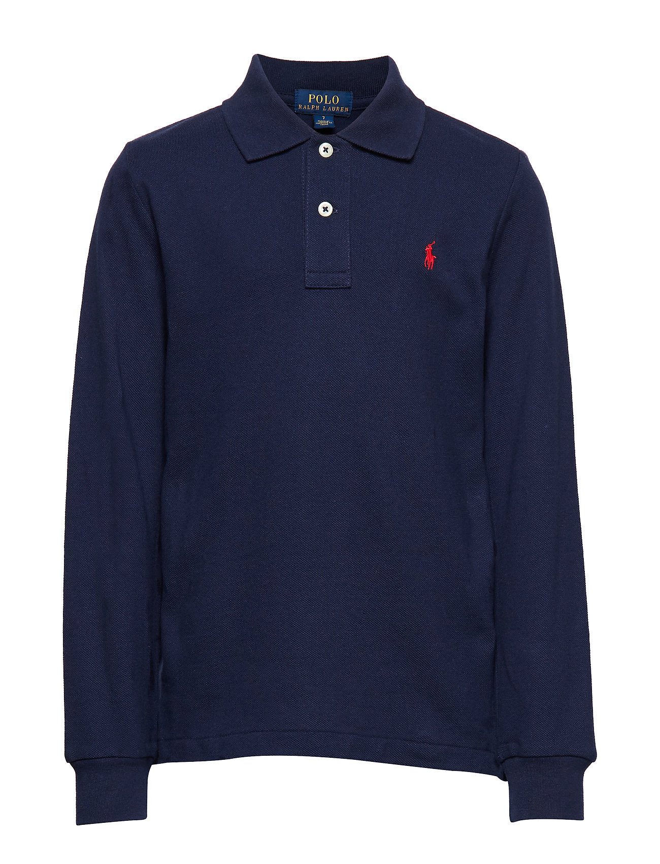 Ralph Lauren Kids Cotton Mesh Polo Shirt - NEWPORT NAVY