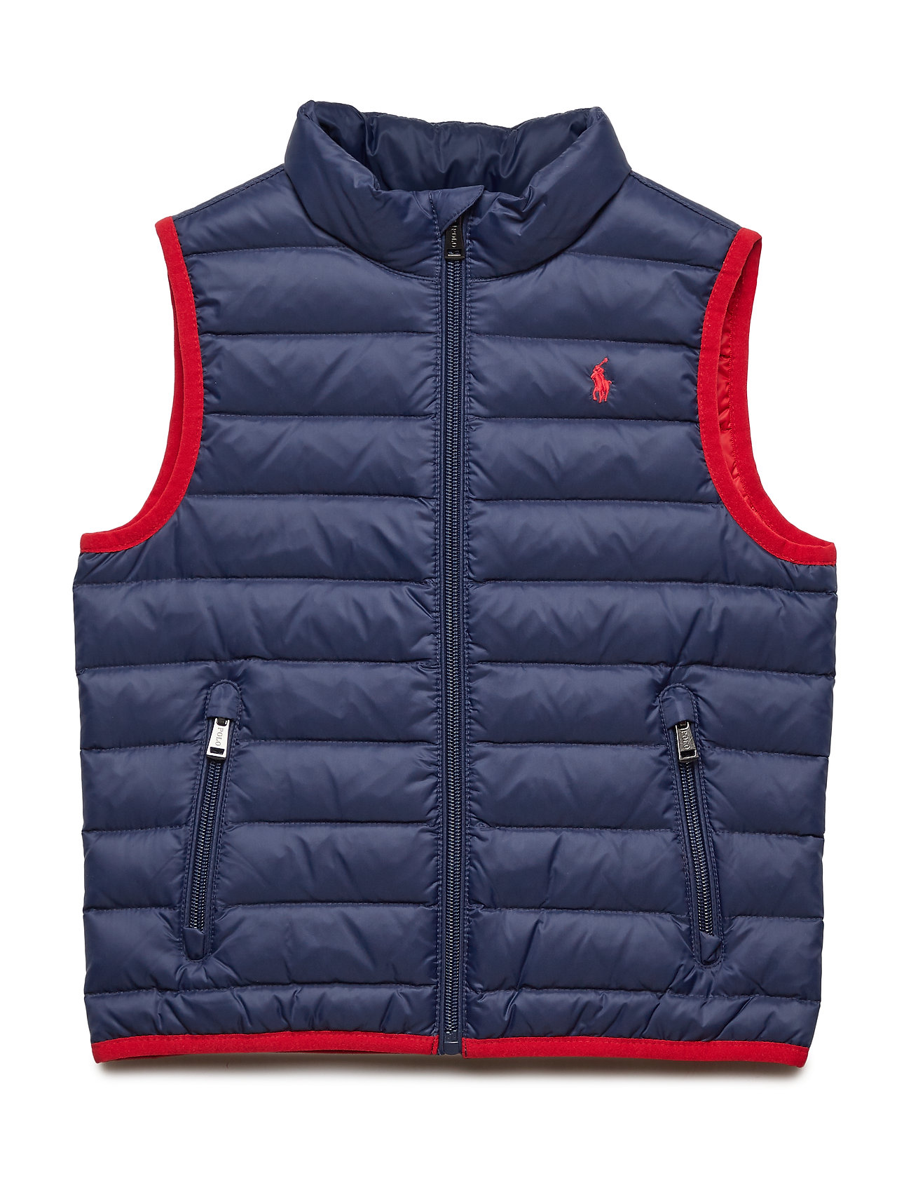 Ralph Lauren Kids Packable Quilted Down Vest - FRENCH NAVY
