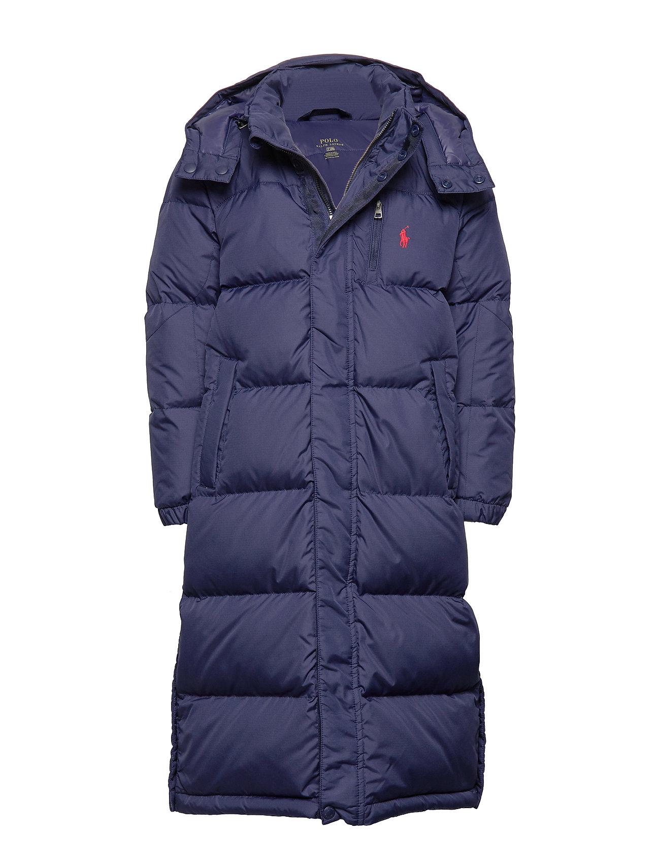 Ralph Lauren Kids Down Hooded Coat - FRENCH NAVY