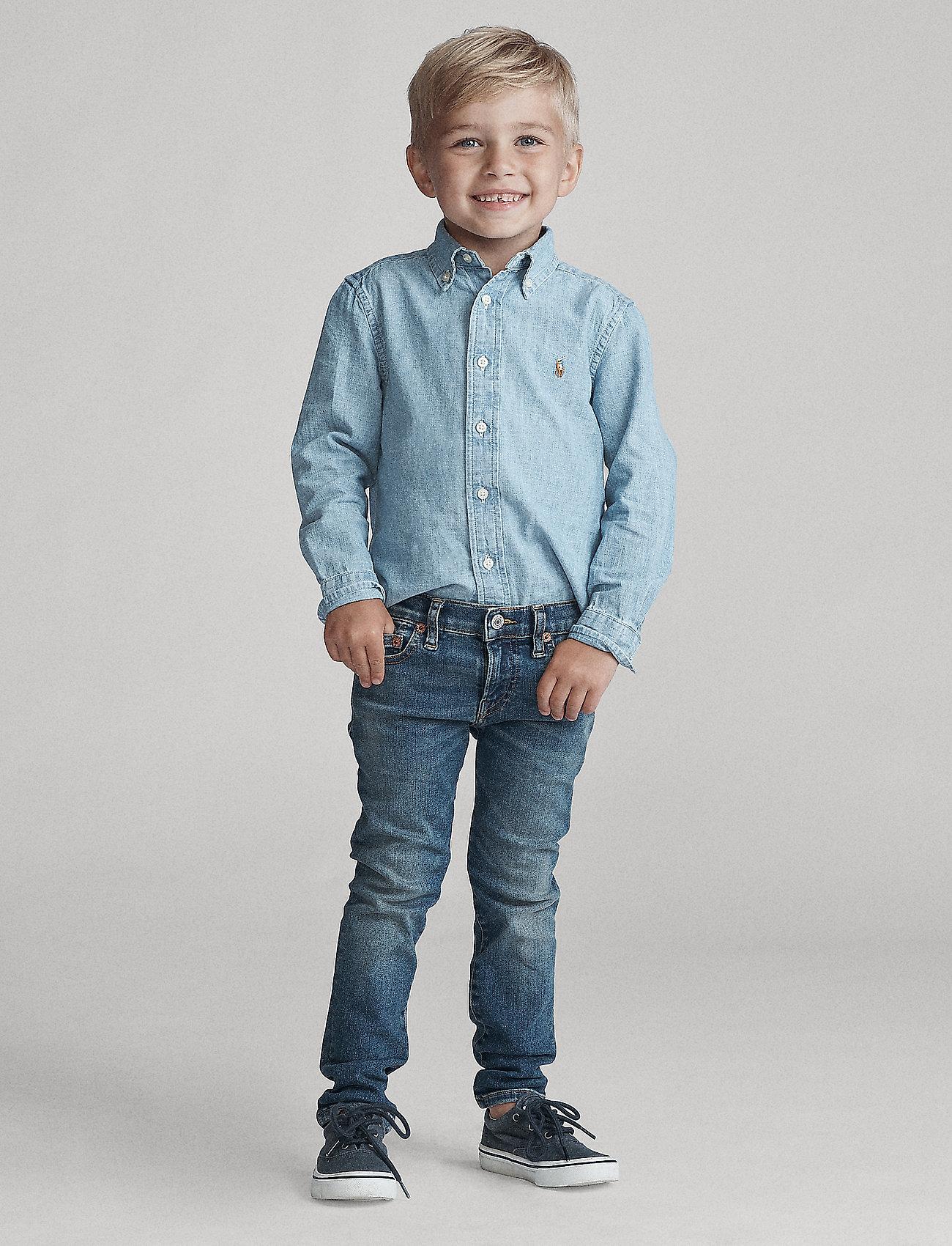 Ralph Lauren Kids - Eldridge Skinny Stretch Jean - jeans - aiden wash - 0