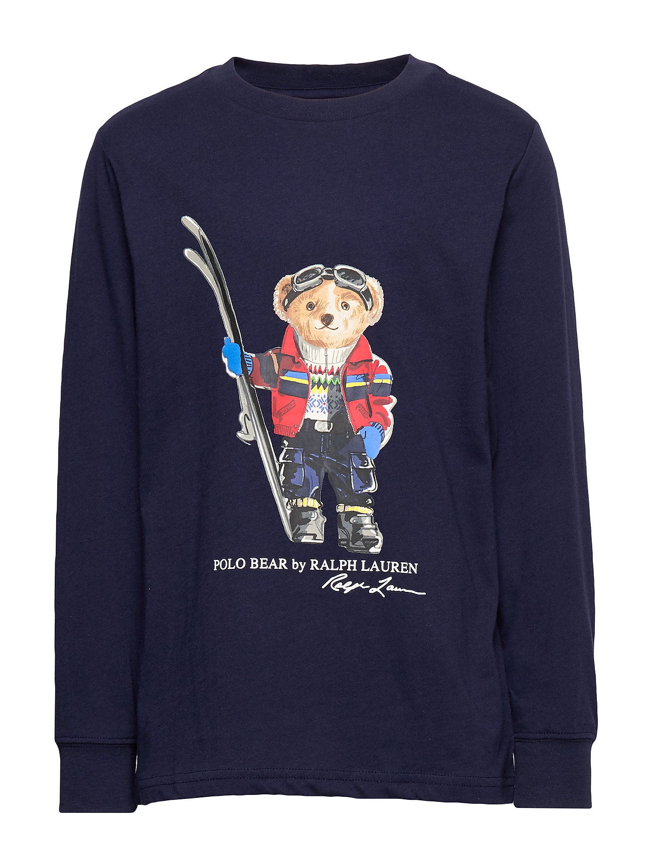 Ralph Lauren Kids LS CN-TOPS-T-SHIRT - FRENCH NAVY