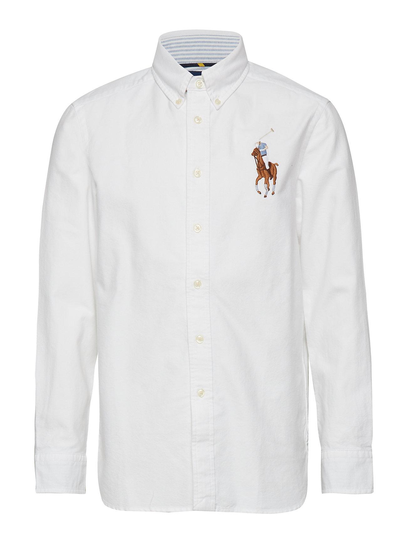 Ralph Lauren Kids Big Pony Cotton Oxford Shirt