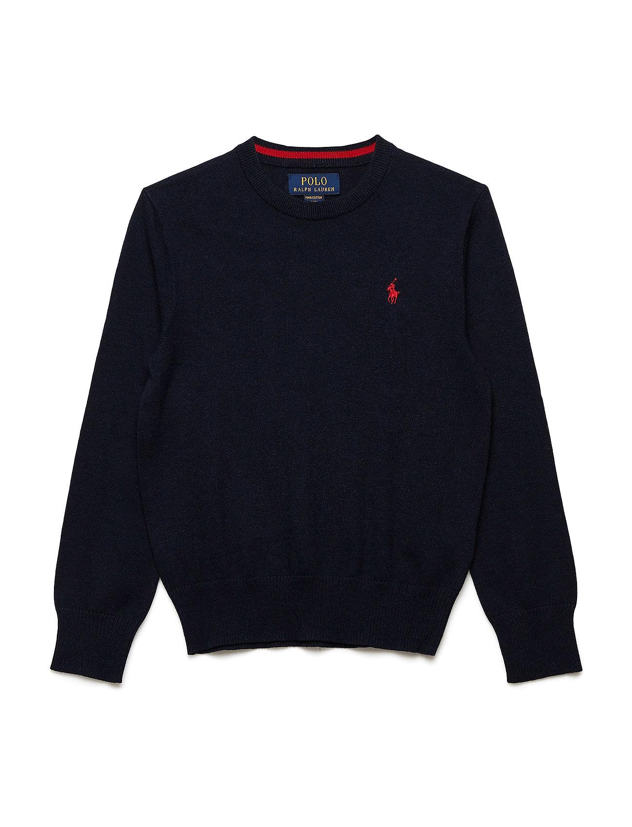 Ralph Lauren Kids Cotton Crewneck Sweater