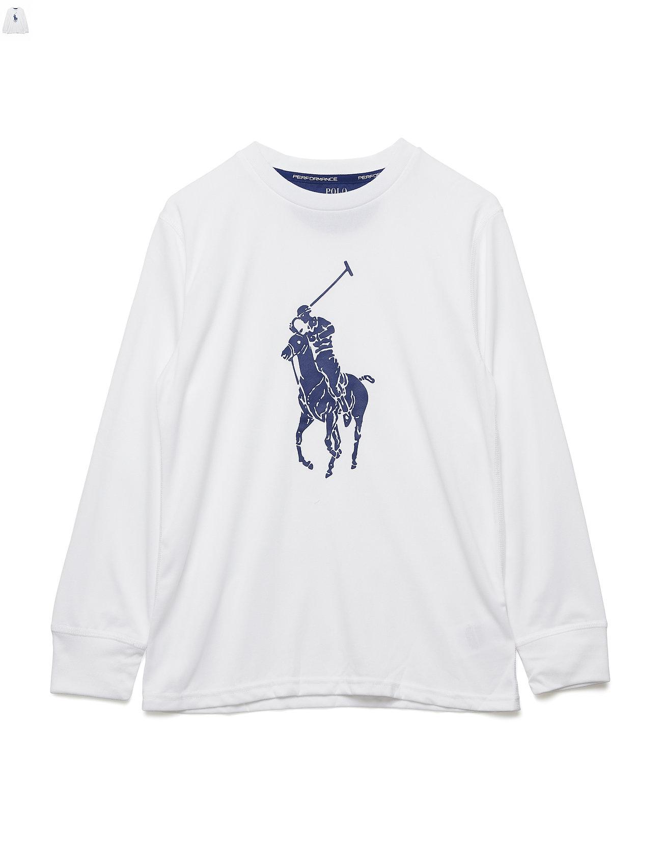 634cbb2d Performance Jersey T-shirt (Pure White) (£23.10) - Ralph Lauren Kids ...