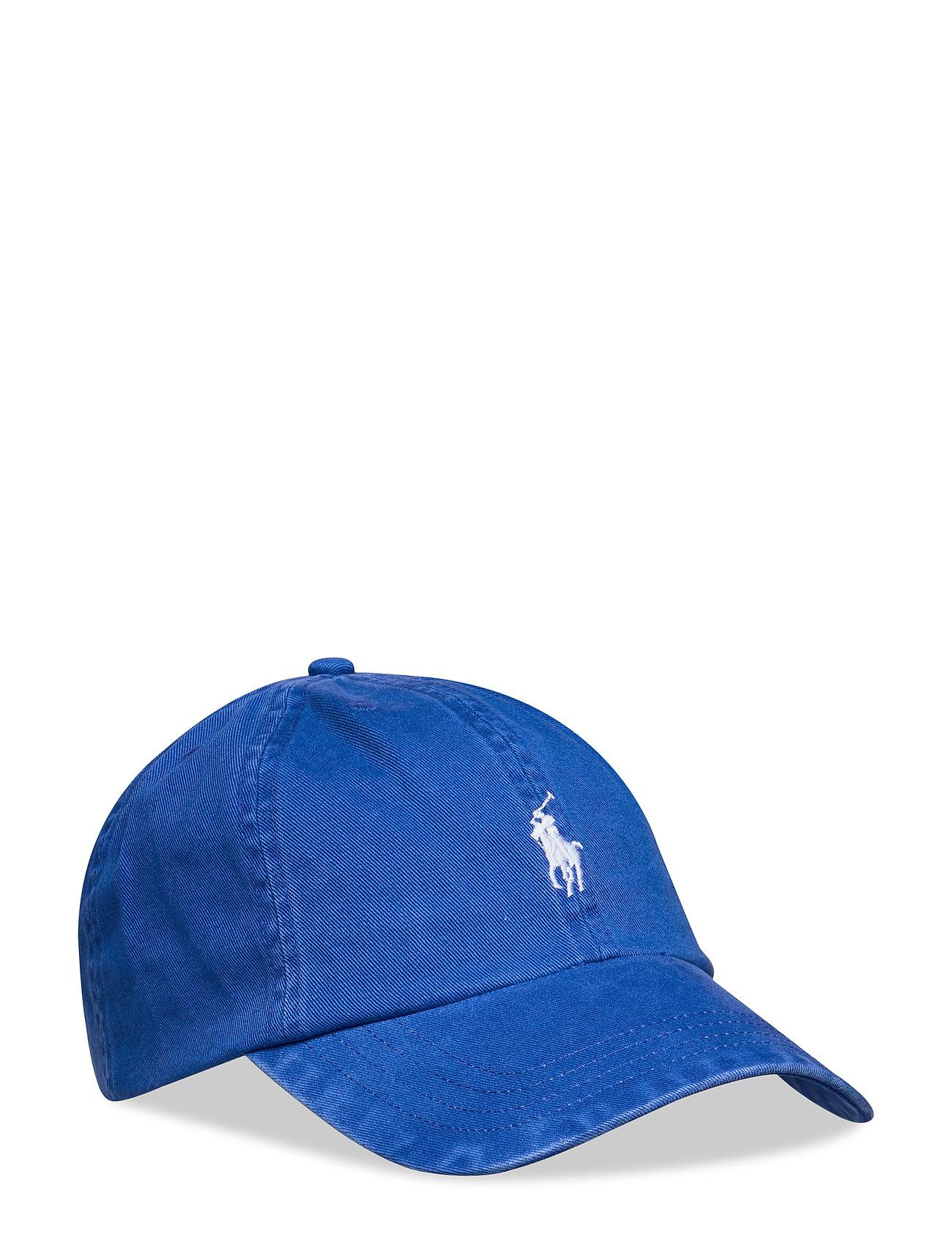 Ralph Lauren Kids Cotton Chino Baseball Cap - PACIFIC ROYAL