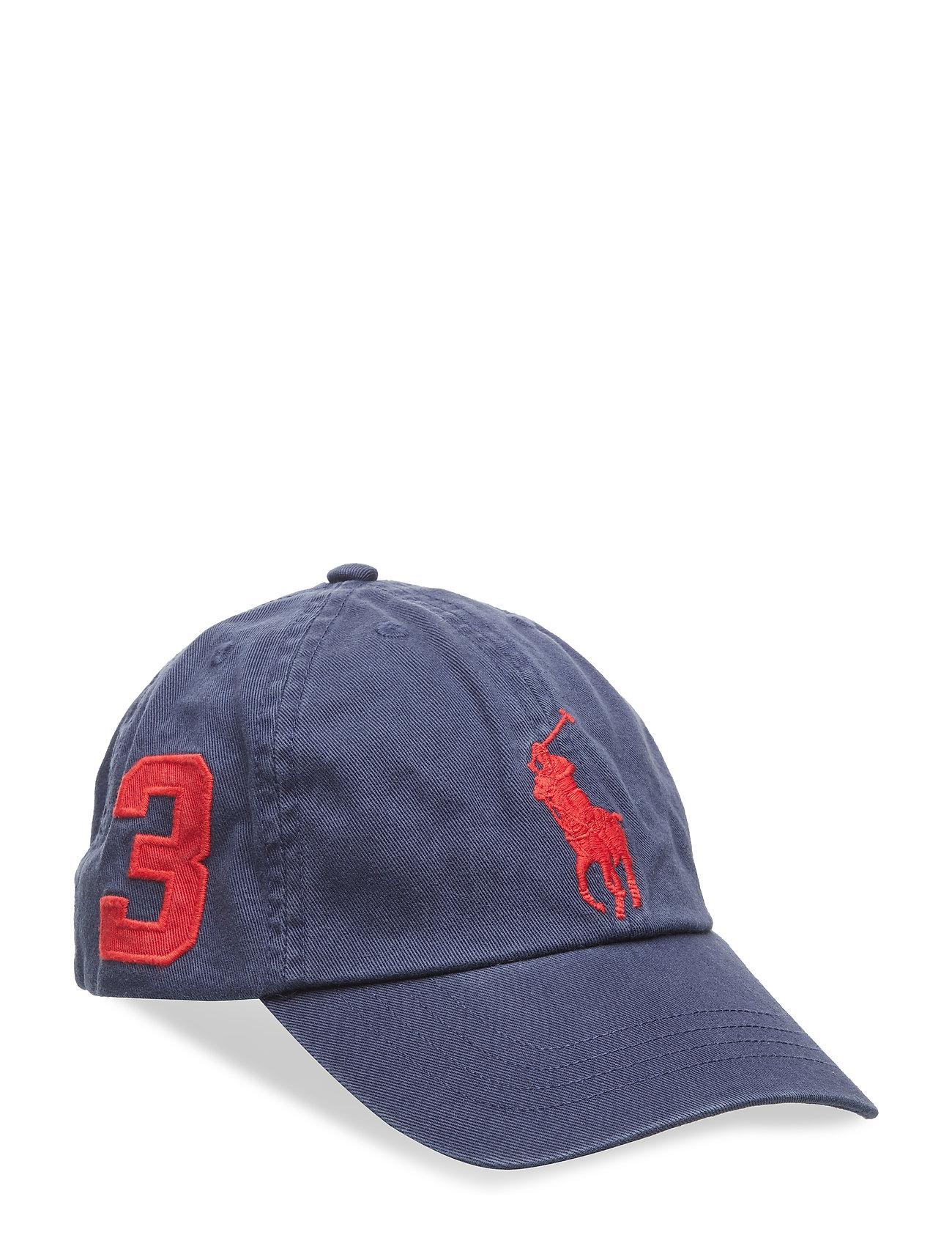 Ralph Lauren Kids CHINO TWILL-BIG PP CAP-AC-HAT