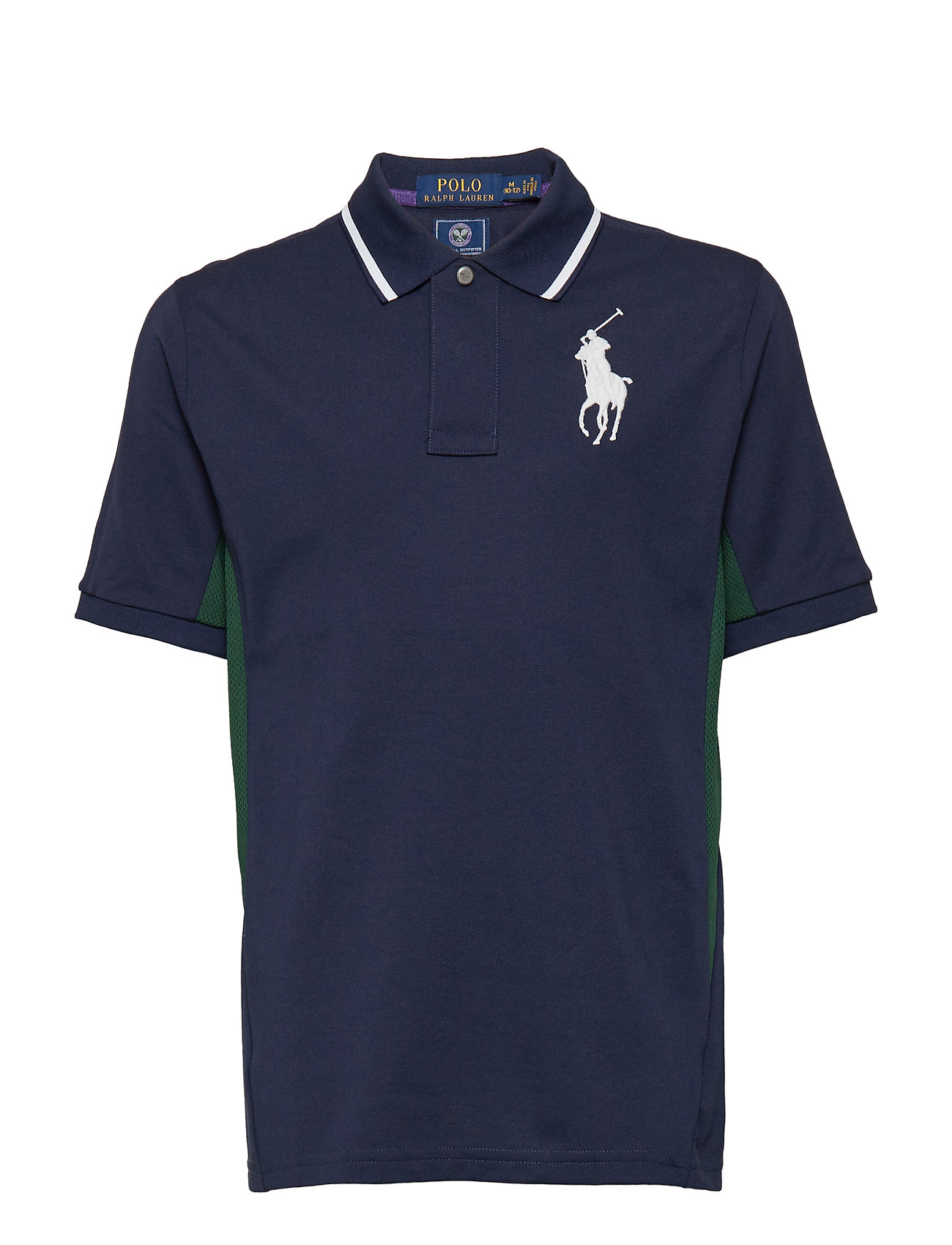 Ralph Lauren Kids Wimbledon Ball Boy Polo Shirt - FRENCH NAVY