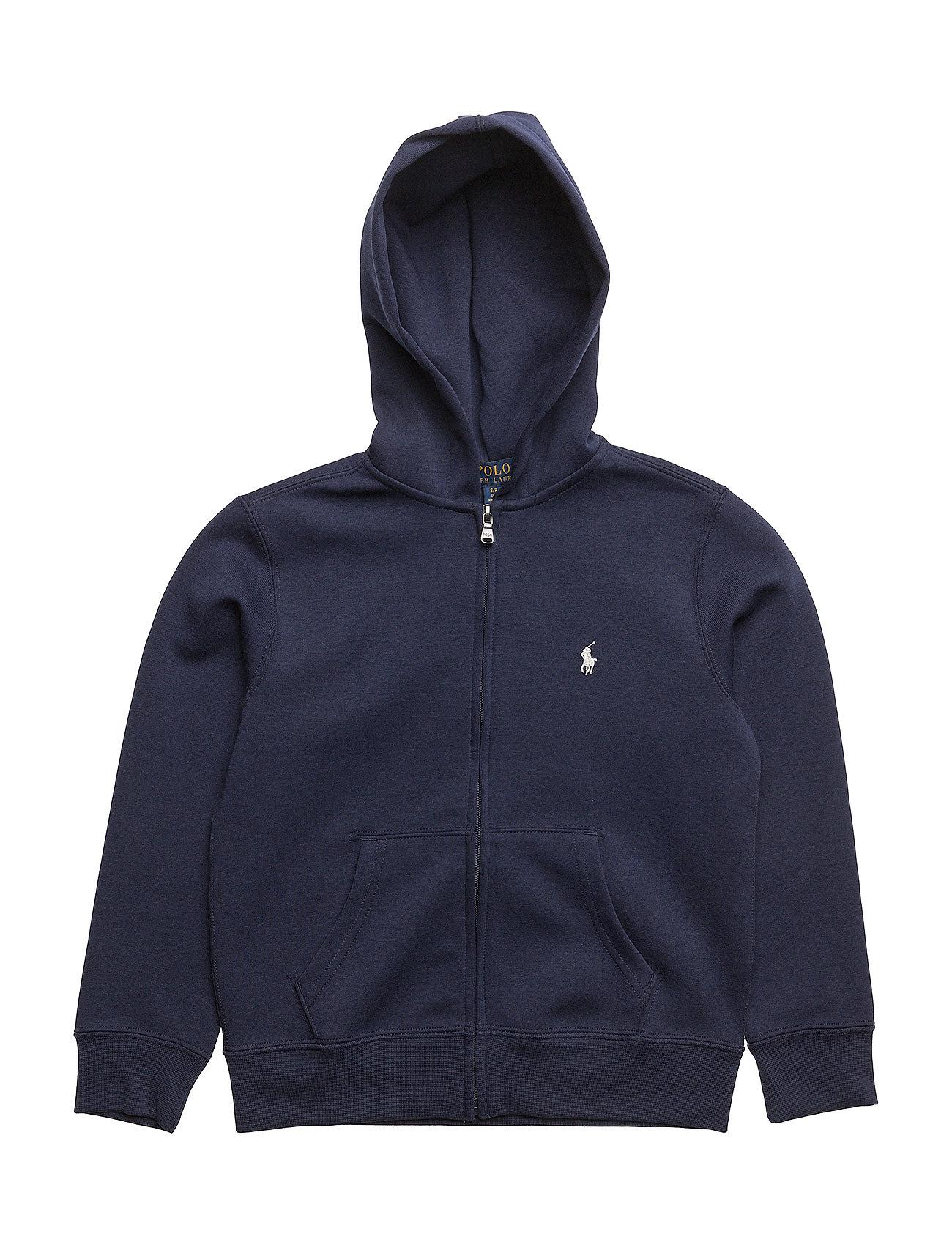 dbc453ef0be3f6 Double-knit Full-zip Hoodie (French Navy) (£89) - Ralph Lauren Kids ...