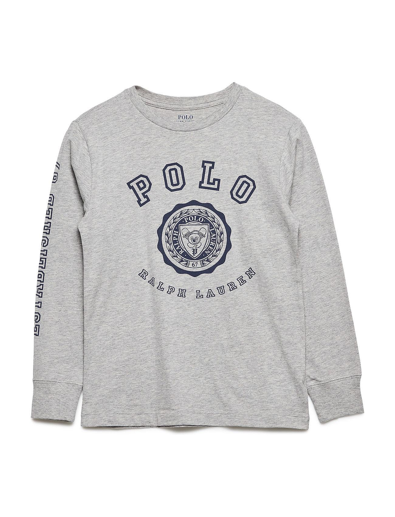 Ralph Lauren Kids Cotton Jersey Graphic T-Shirt