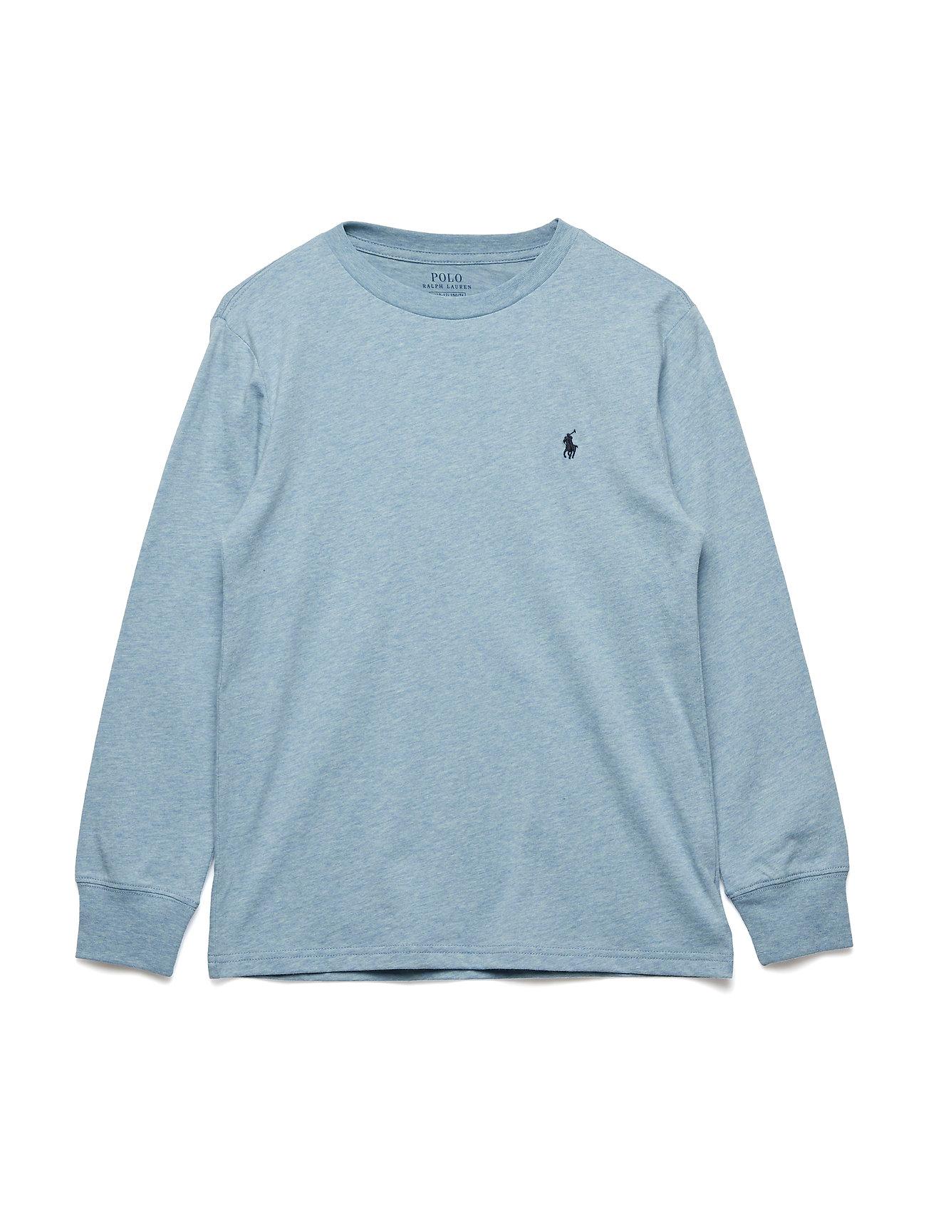 Ralph Lauren Kids Cotton Long-Sleeve T-Shirt