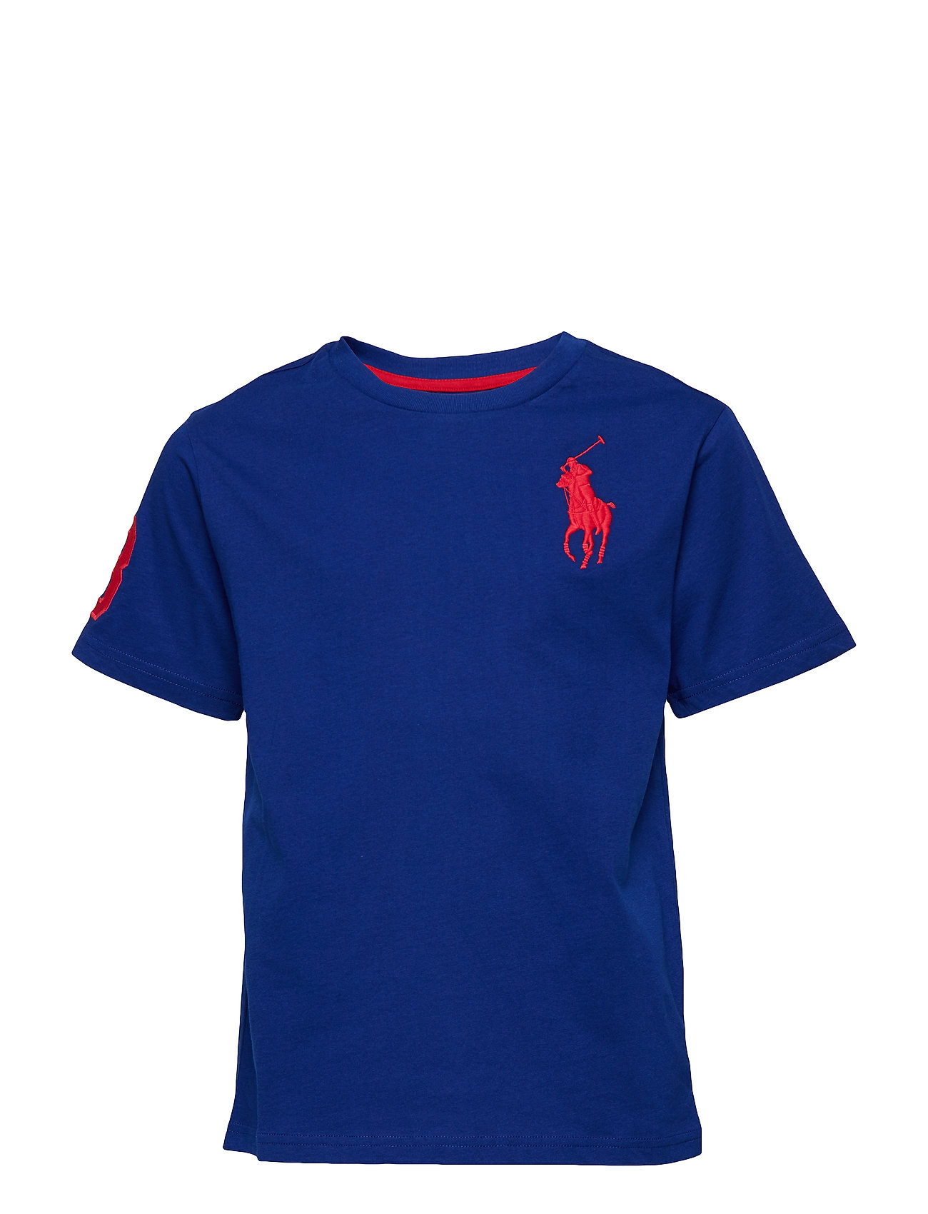 Jersey-ss Cn-tp-tsh (Heritage Royal) (42 €) - Ralph Lauren Kids ... 6e8b87b9e